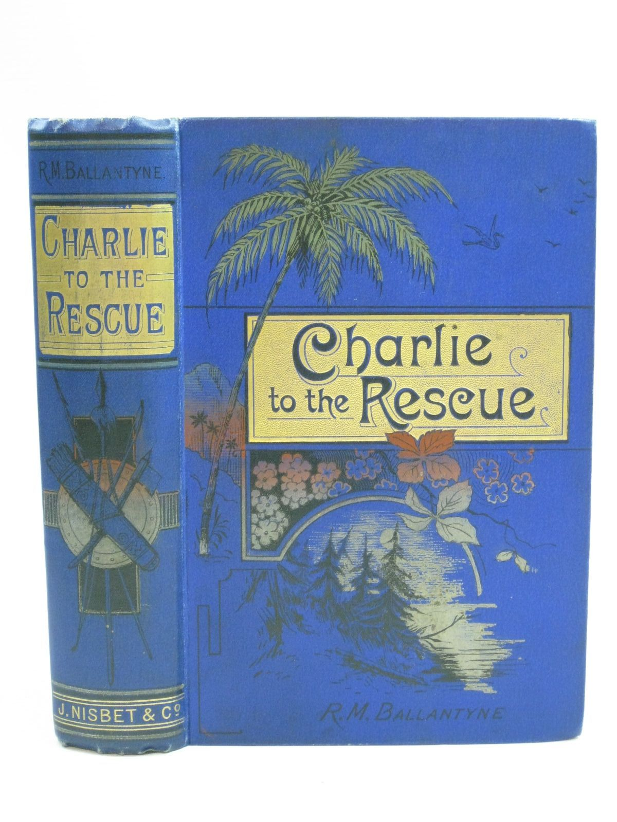 Photo of CHARLIE TO THE RESCUE written by Ballantyne, R.M. illustrated by Ballantyne, R.M. published by James Nisbet & Co. Ltd. (STOCK CODE: 1505939)  for sale by Stella & Rose's Books