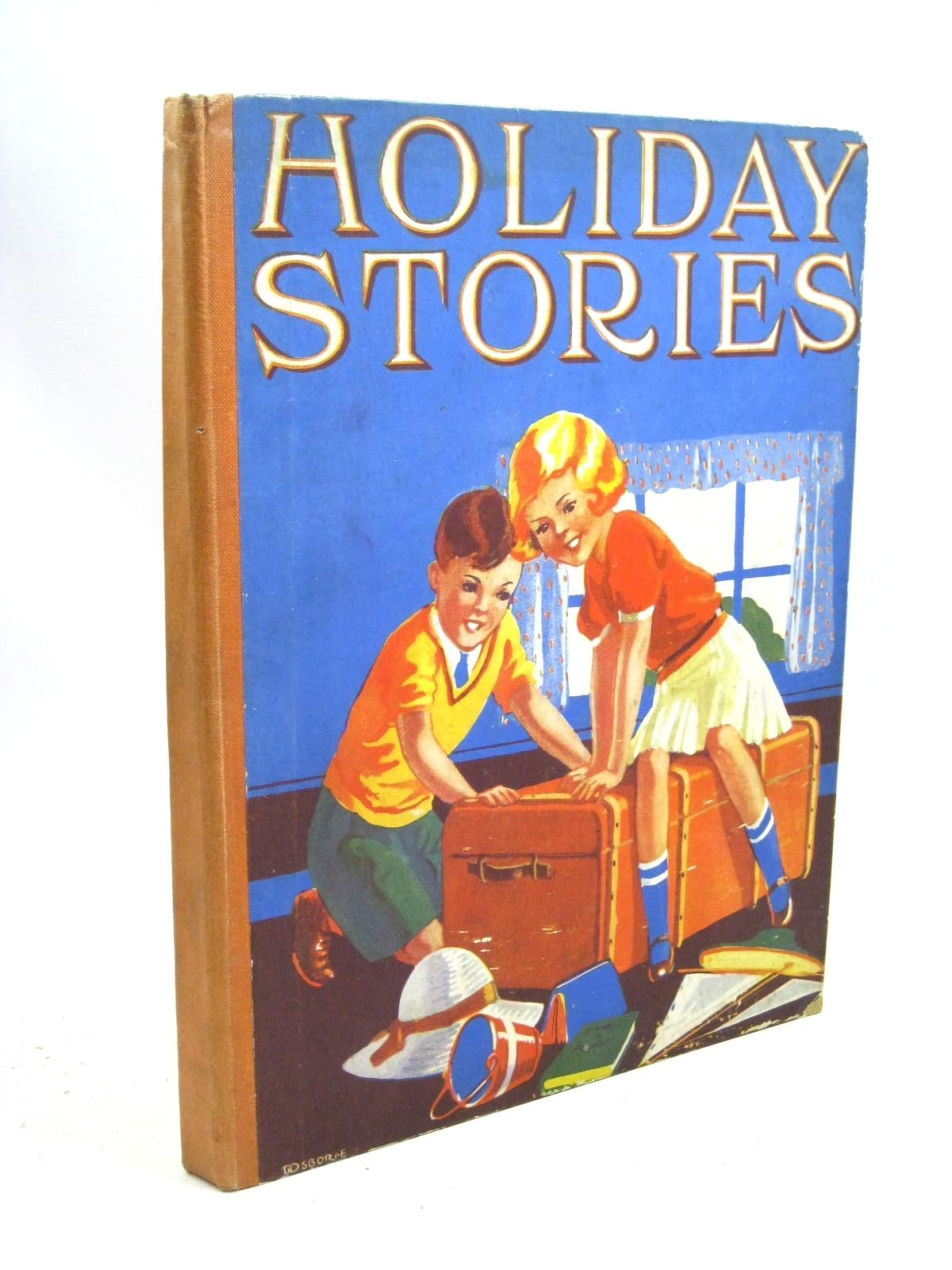 Photo of HOLIDAY STORIES written by Carruthers, M.I.K.<br />Methley, Violet M.<br />Heward, Constance<br />Todd, Barbara E.<br />Rutley, Cecily M.<br />et al, illustrated by Burgess, Ethel K.<br />Rees, E. Dorothy<br />Sutcliffe, Norman<br />Cowham, Hilda<br />et al., published by Collins Clear-Type Press (STOCK CODE: 1505973)  for sale by Stella & Rose's Books