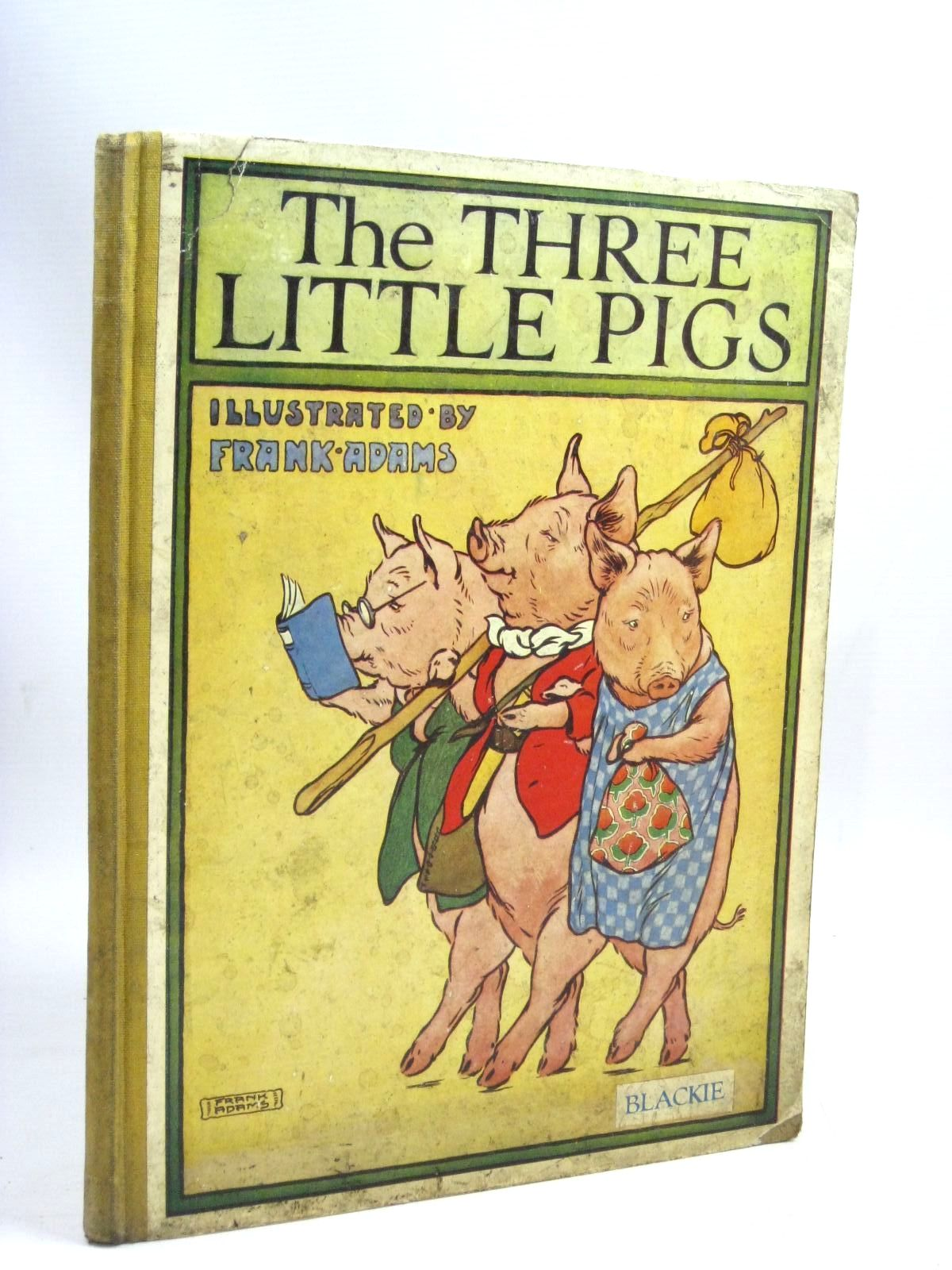 Photo of THE THREE LITTLE PIGS illustrated by Adams, Frank published by Blackie & Son Ltd. (STOCK CODE: 1505977)  for sale by Stella & Rose's Books