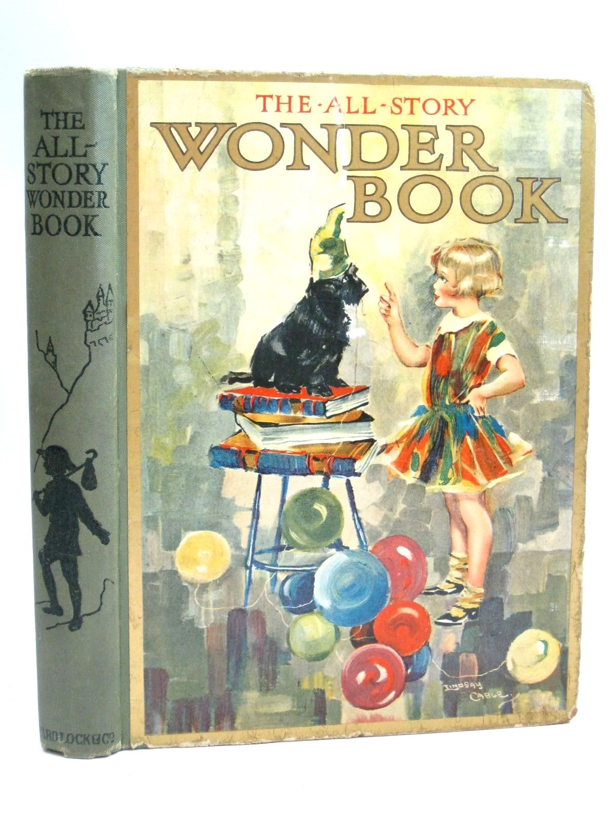Photo of THE ALL-STORY WONDER BOOK 24TH YEAR written by Golding, Harry<br />Collier, Madeleine<br />Chaundler, Christine<br />Brisley, Nina K.<br />Talbot, Ethel<br />et al, illustrated by Cable, W. Lindsay<br />Tarrant, Percy<br />Theaker, Harry G.<br />Adams, Frank<br />Wright, Alan<br />et al., published by Ward, Lock & Co. Limited (STOCK CODE: 1506003)  for sale by Stella & Rose's Books
