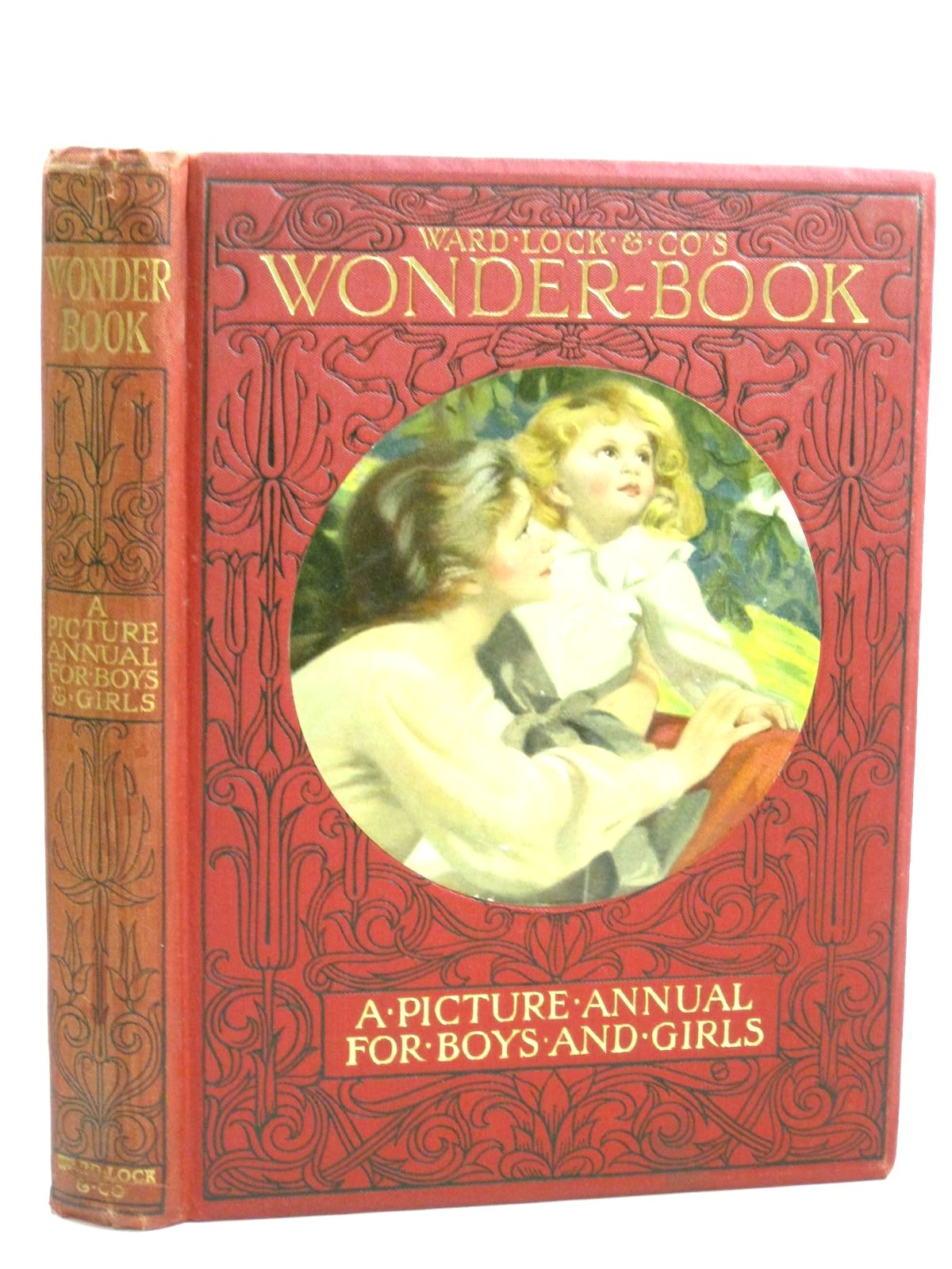 Photo of WARD LOCK & CO'S WONDER BOOK 1912 written by Golding, Harry<br />Pope, Jessie<br />Lambert, H.G.C. Marsh<br />Herbertson, Agnes Grozier<br />et al, illustrated by Cowham, Hilda<br />Barker, Wright<br />Wain, Louis<br />Henshall, Henry<br />et al., published by Ward, Lock & Co. Ltd. (STOCK CODE: 1506004)  for sale by Stella & Rose's Books