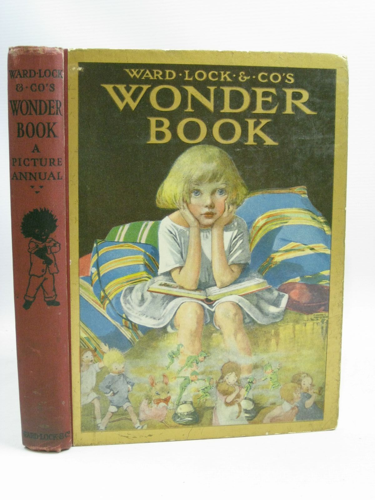 Photo of WARD LOCK & CO'S WONDER BOOK 1926 written by Golding, Harry<br />Pope, Jessie<br />Chaundler, Christine<br />Herbertson, Agnes Grozier<br />Talbot, Ethel<br />et al, illustrated by Appleton, Honor C.<br />Topham, Inez<br />Tarrant, Margaret<br />Woolley, Harry<br />Tarrant, Percy<br />et al., published by Ward Lock & Co Ltd. (STOCK CODE: 1506005)  for sale by Stella & Rose's Books