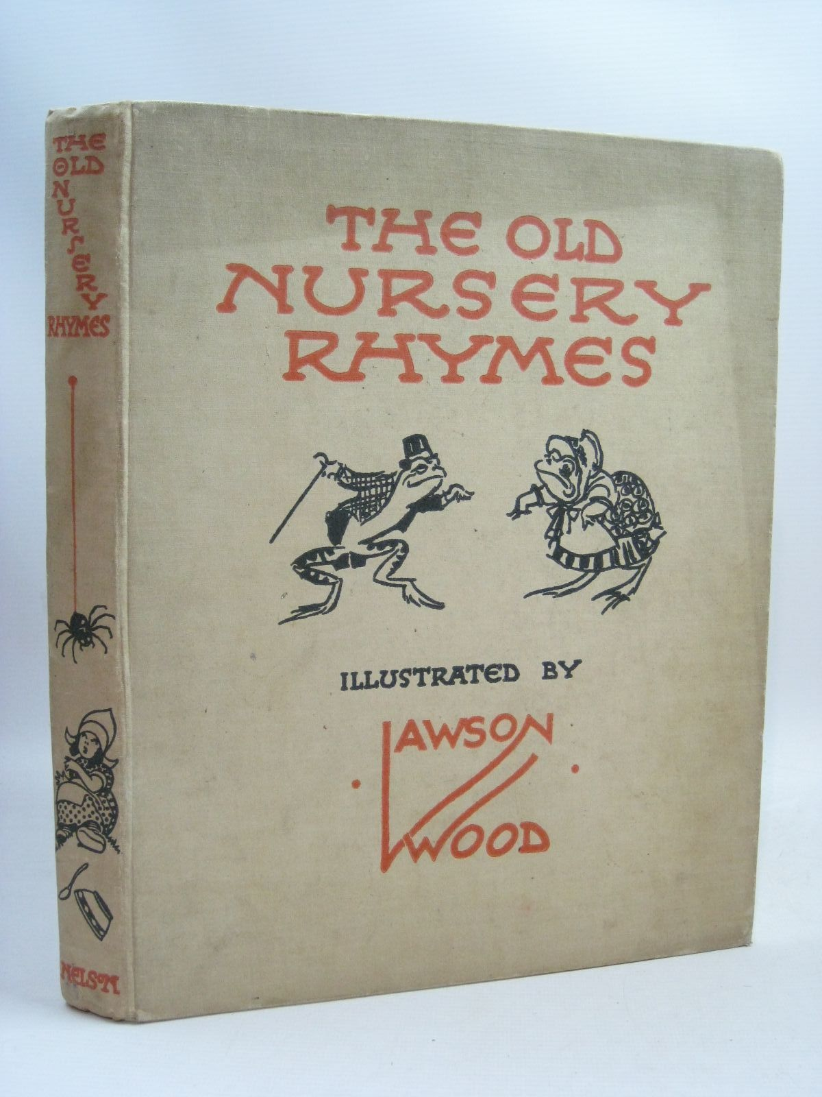 Photo of THE OLD NURSERY RHYMES illustrated by Wood, Lawson published by Thomas Nelson and Sons Ltd. (STOCK CODE: 1506033)  for sale by Stella & Rose's Books