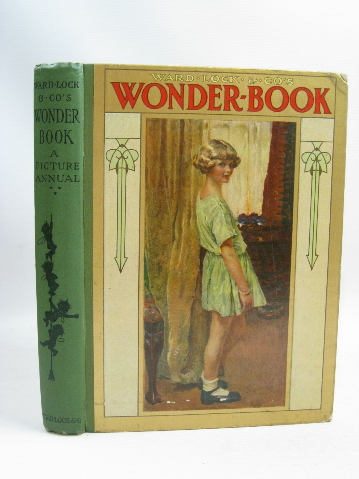 Photo of WARD LOCK & CO'S WONDER BOOK 1925 written by Golding, Harry<br />Joan, Natalie<br />Rutley, Cecily M.<br />Wynne, May<br />Chaundler, Christine<br />et al, illustrated by Anderson, Anne<br />Brisley, Nina K.<br />Tarrant, Margaret<br />Aris, Ernest A.<br />et al., published by Ward Lock & Co Ltd. (STOCK CODE: 1506035)  for sale by Stella & Rose's Books