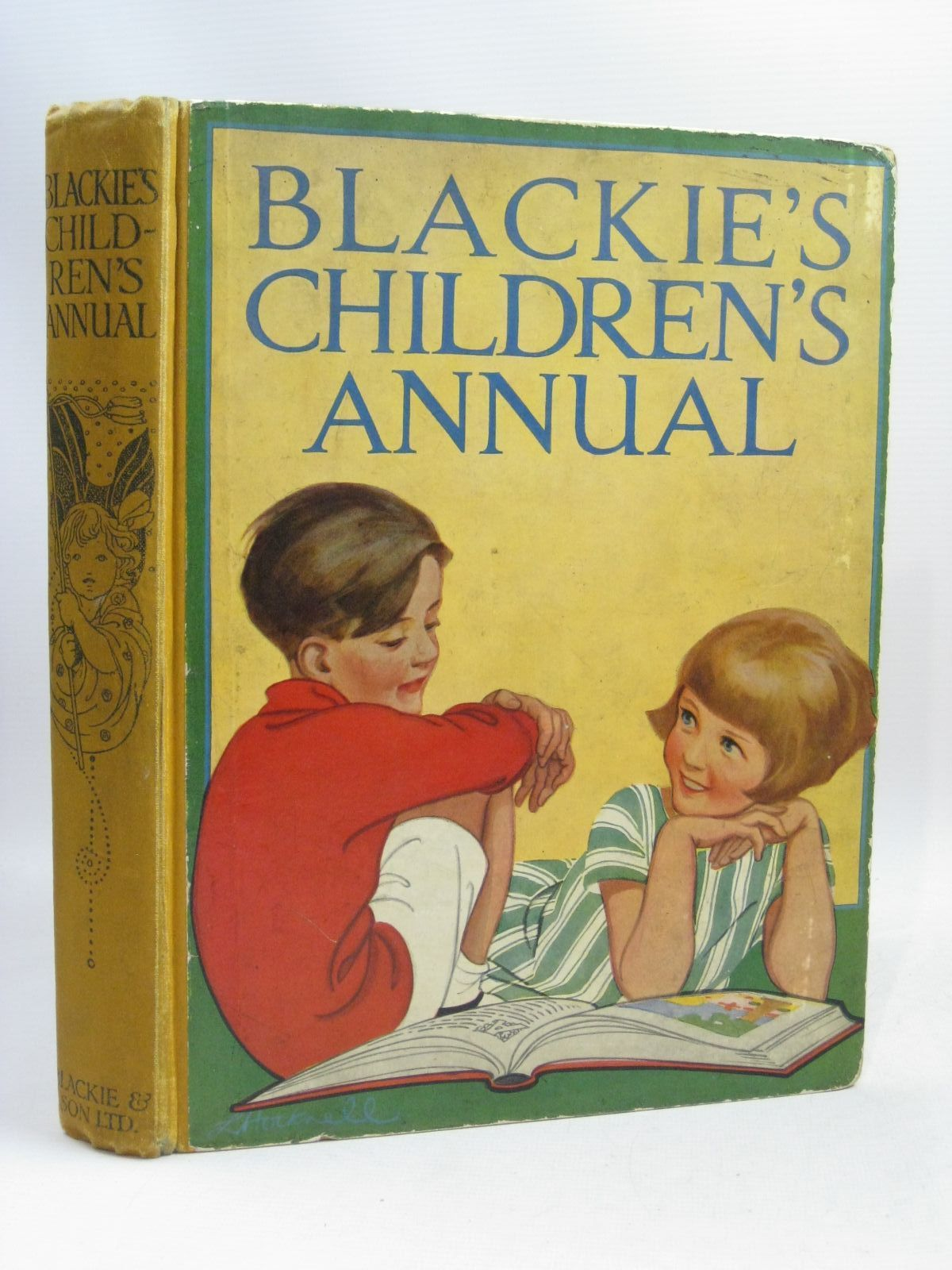 Photo of BLACKIE'S CHILDREN'S ANNUAL 23RD YEAR written by Barnes, Madeline<br />Ogilvie, Will H.<br />Pope, Jessie<br />Smith, Evelyn<br />et al, illustrated by Adams, Frank<br />Reynolds, Warwick<br />Rountree, Harry<br />et al., published by Blackie & Son Ltd. (STOCK CODE: 1506036)  for sale by Stella & Rose's Books