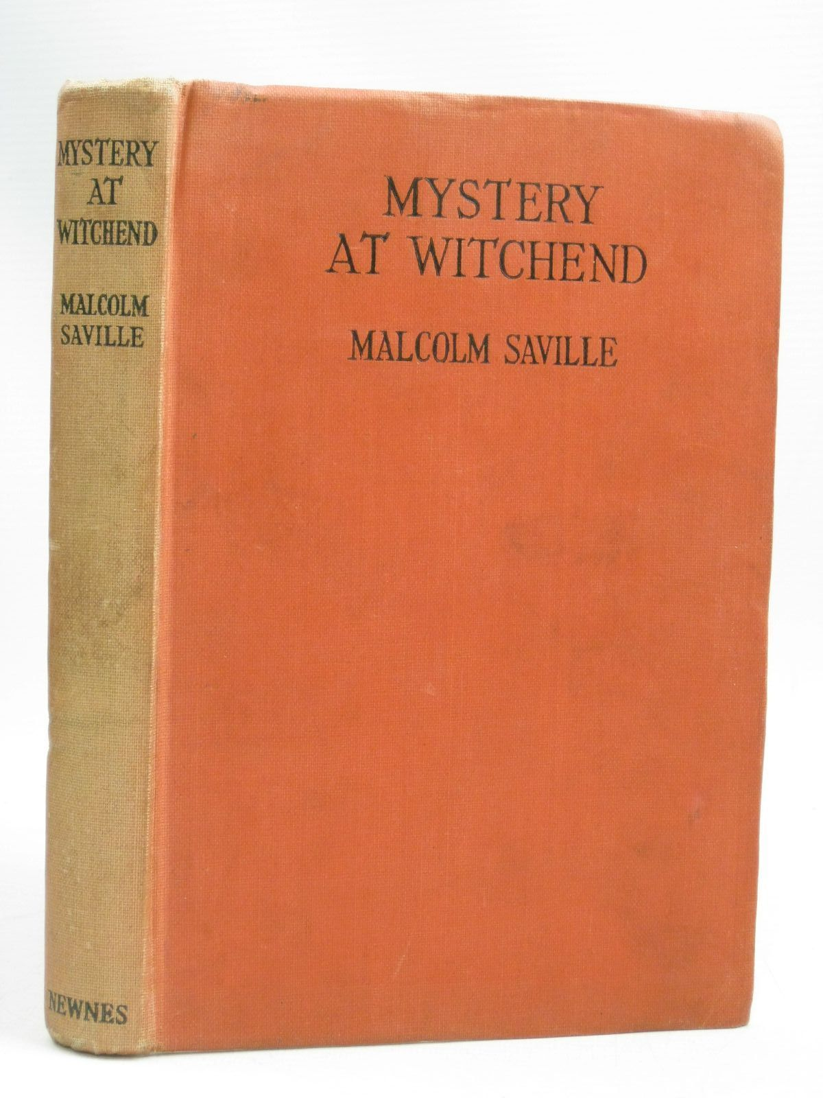 Photo of MYSTERY AT WITCHEND written by Saville, Malcolm illustrated by Breary, G.E. published by George Newnes Ltd. (STOCK CODE: 1506068)  for sale by Stella & Rose's Books