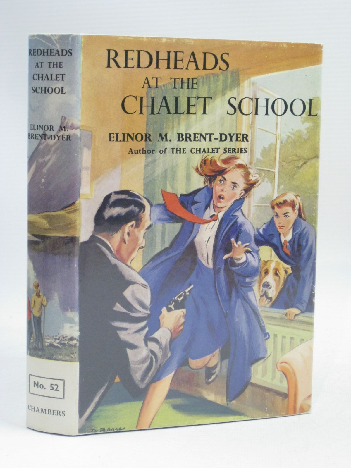 Photo of REDHEADS AT THE CHALET SCHOOL written by Brent-Dyer, Elinor M. illustrated by Brook, D. published by W. & R. Chambers Limited (STOCK CODE: 1506069)  for sale by Stella & Rose's Books