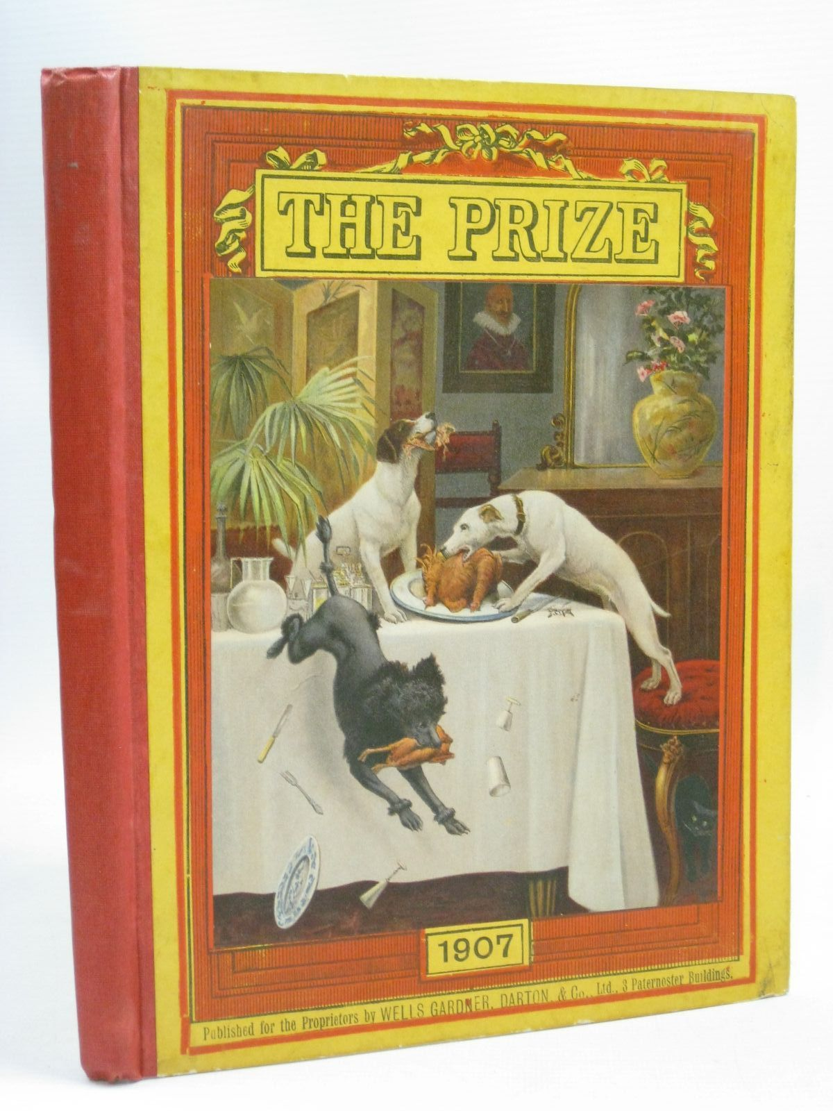 Photo of THE PRIZE FOR GIRLS AND BOYS 1907 published by Wells Gardner, Darton & Co. Limited (STOCK CODE: 1506085)  for sale by Stella & Rose's Books