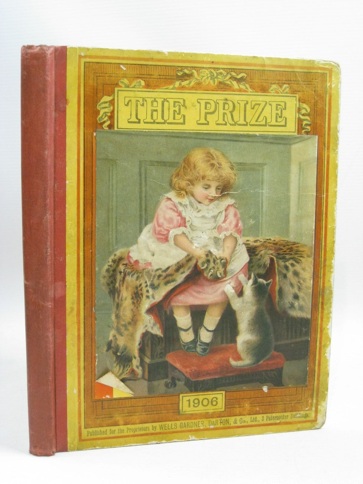 Photo of THE PRIZE FOR GIRLS AND BOYS 1906 published by Wells Gardner, Darton & Co. (STOCK CODE: 1506102)  for sale by Stella & Rose's Books