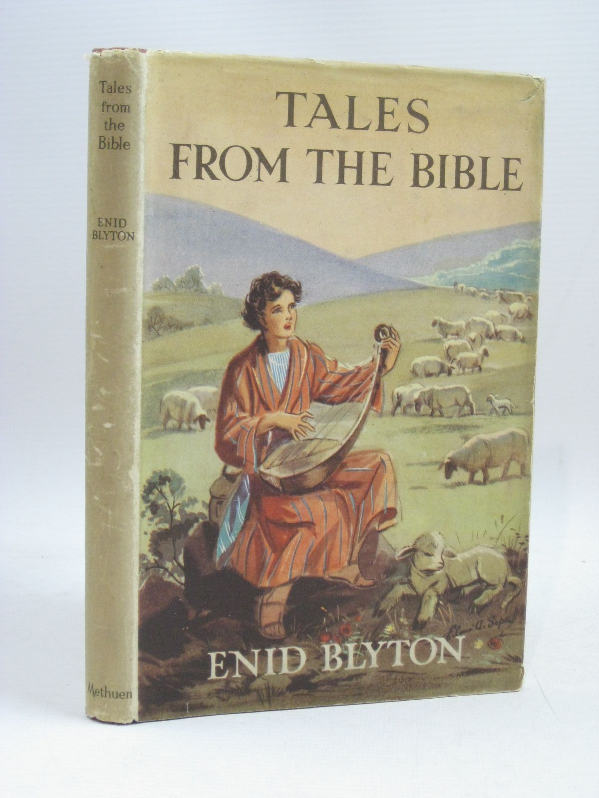 Photo of TALES FROM THE BIBLE written by Blyton, Enid illustrated by Soper, Eileen published by Methuen & Co. Ltd. (STOCK CODE: 1506133)  for sale by Stella & Rose's Books