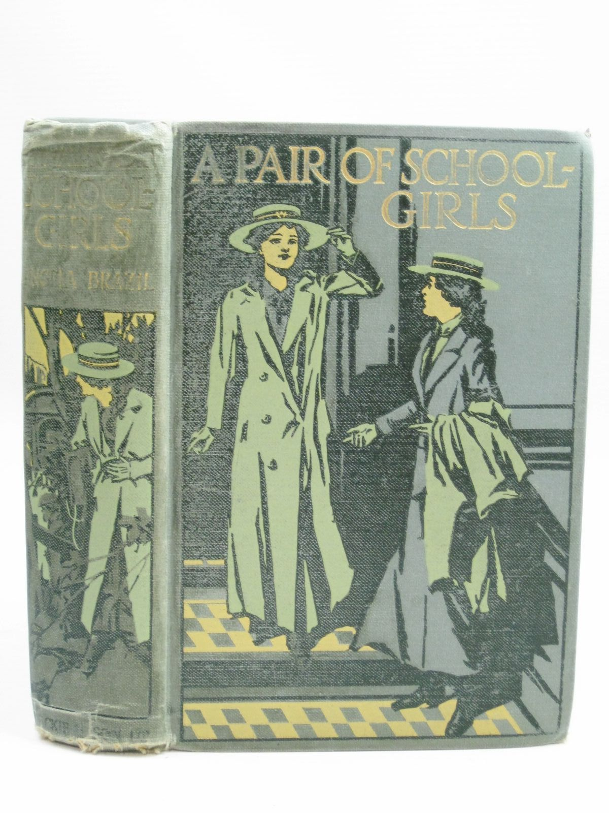 Photo of A PAIR OF SCHOOLGIRLS written by Brazil, Angela illustrated by Campbell, John published by Blackie & Son Ltd. (STOCK CODE: 1506141)  for sale by Stella & Rose's Books