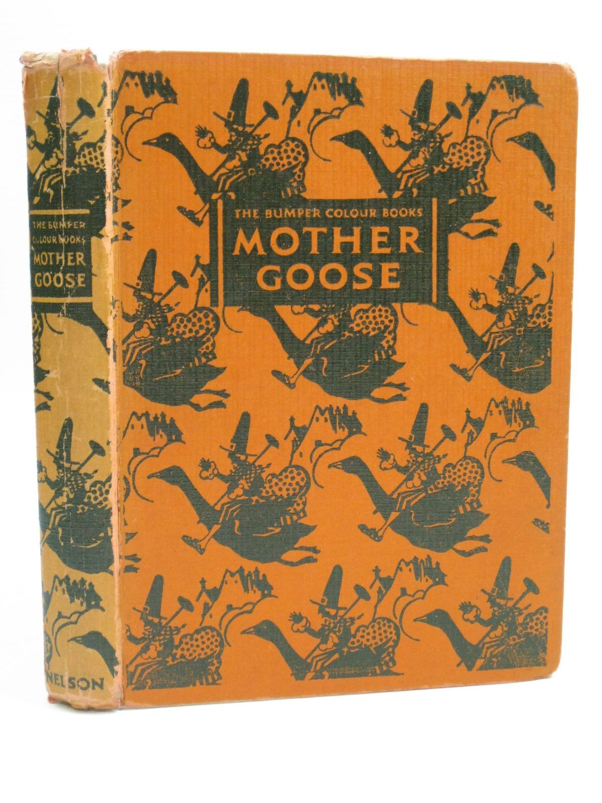 Photo of THE OLD MOTHER GOOSE NURSERY RHYME BOOK illustrated by Anderson, Anne published by Thomas Nelson and Sons Ltd. (STOCK CODE: 1506144)  for sale by Stella & Rose's Books