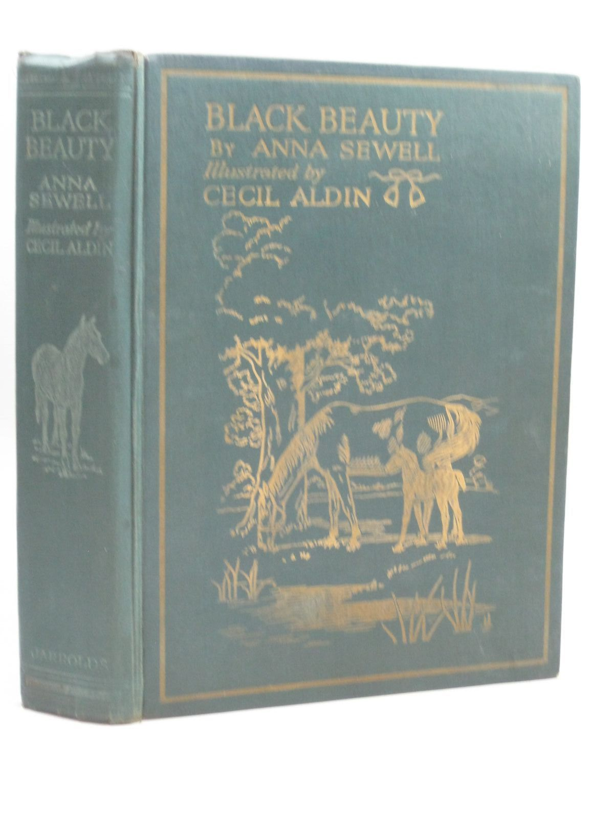 Photo of BLACK BEAUTY written by Sewell, Anna illustrated by Aldin, Cecil published by Jarrolds (STOCK CODE: 1506149)  for sale by Stella & Rose's Books