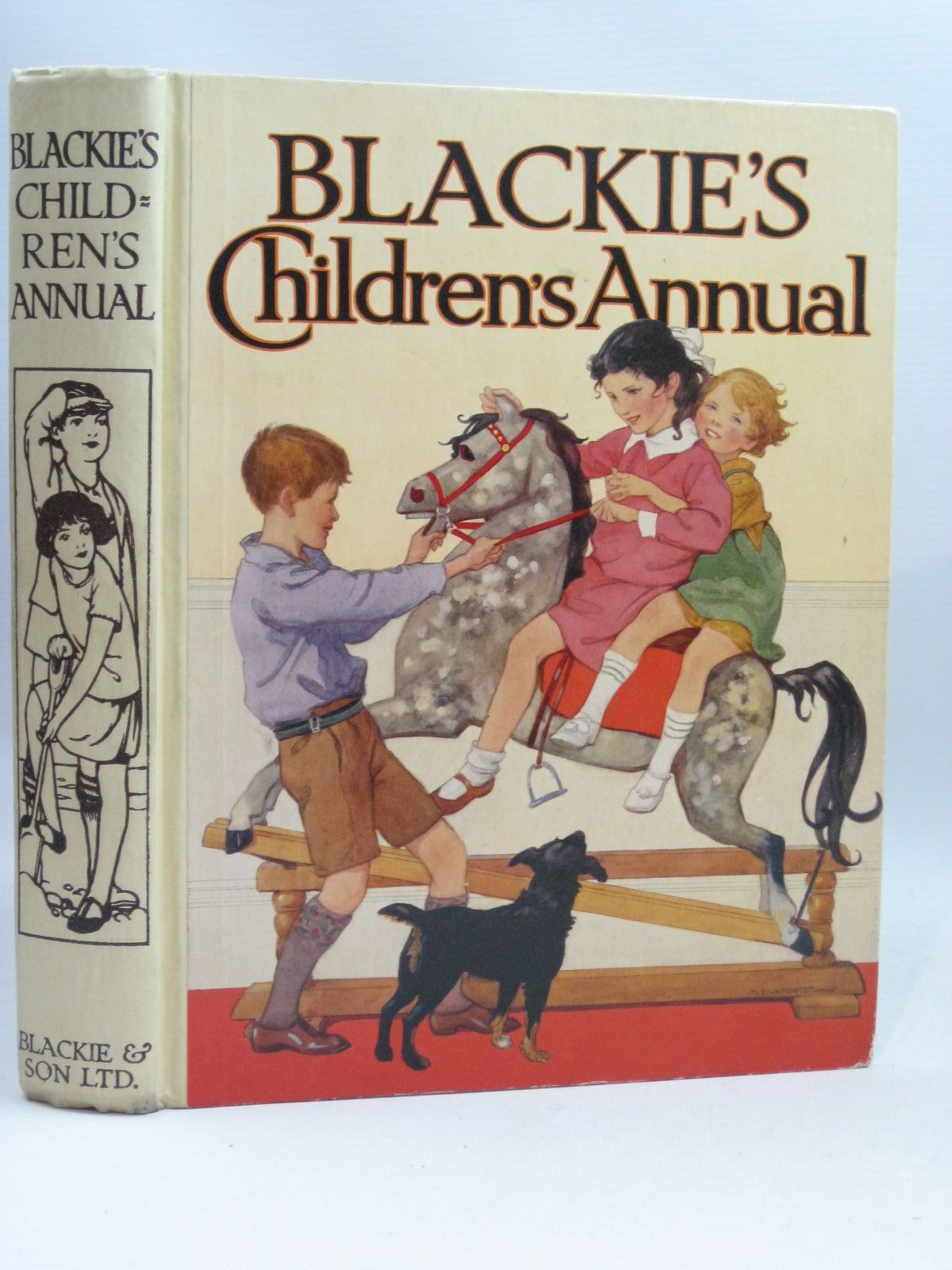 Photo of BLACKIE'S CHILDREN'S ANNUAL 27TH YEAR written by Barnes, Madeline<br />Simeon, Eleanor B.<br />Smith, Evelyn<br />Joan, Natalie<br />et al, illustrated by Bestall, Alfred<br />Cowham, Hilda<br />Rountree, Harry<br />Anderson, Florence Mary<br />Beaman, S.G. Hulme<br />et al., published by Blackie & Son Ltd. (STOCK CODE: 1506152)  for sale by Stella & Rose's Books