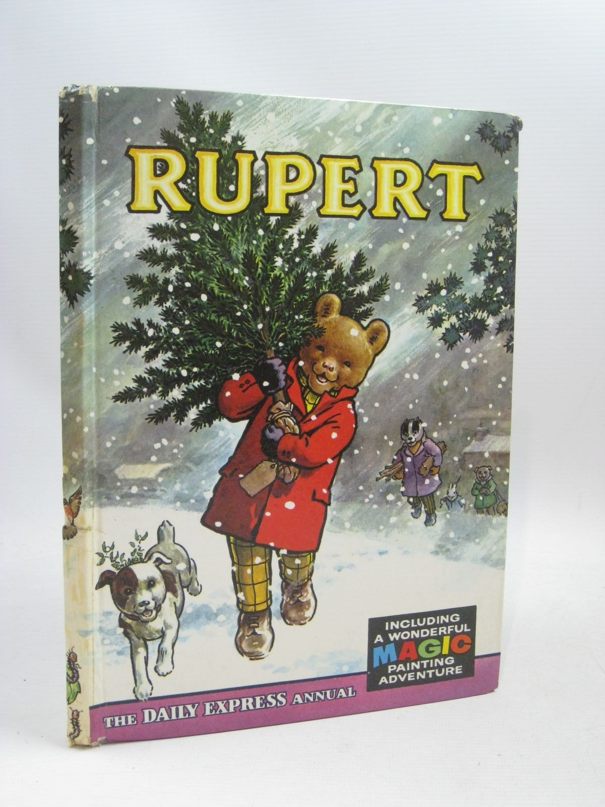Photo of RUPERT ANNUAL 1965 written by Bestall, Alfred illustrated by Bestall, Alfred published by Daily Express (STOCK CODE: 1506182)  for sale by Stella & Rose's Books