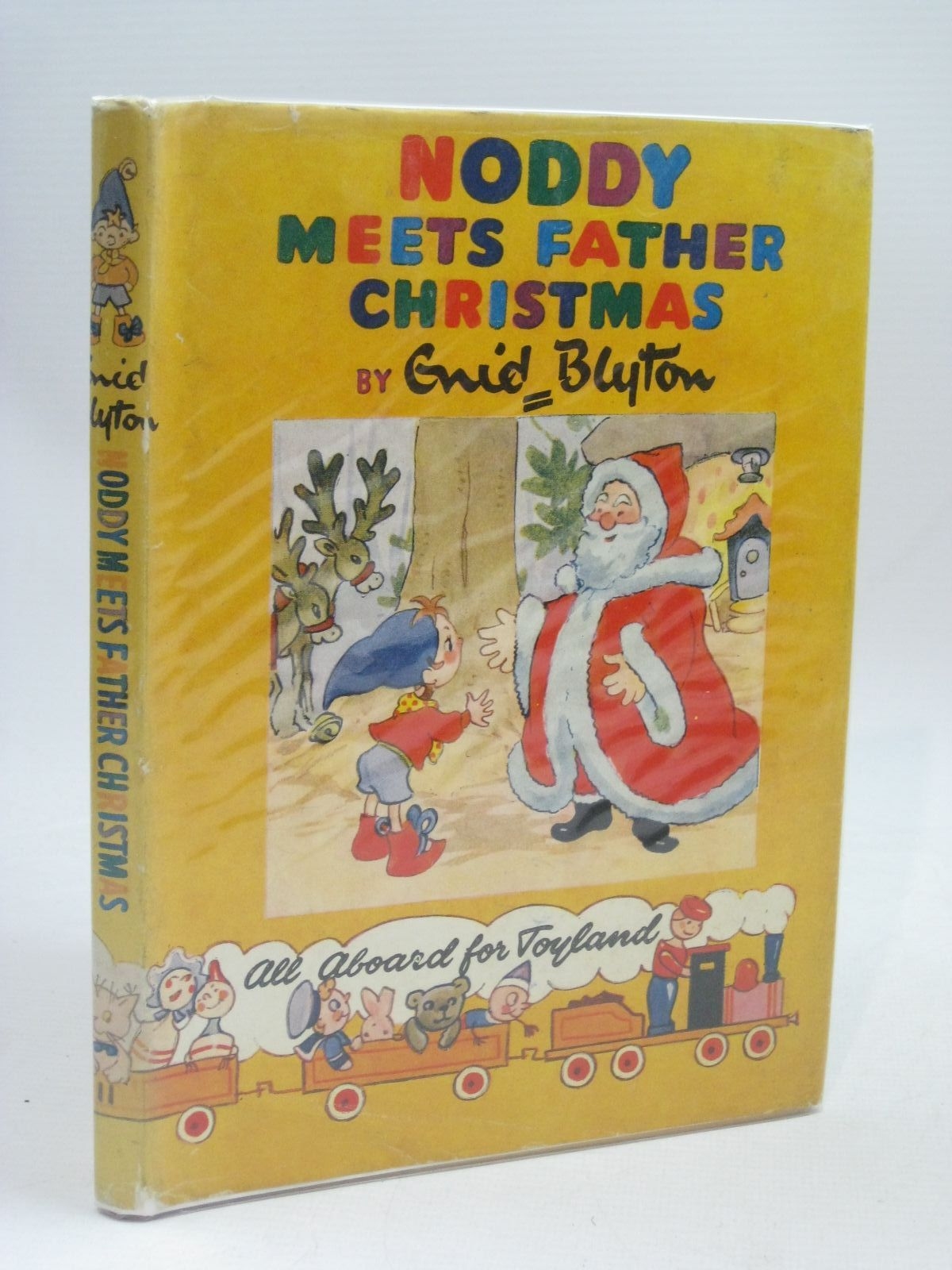 Photo of NODDY MEETS FATHER CHRISTMAS written by Blyton, Enid illustrated by Brooks, Mary published by Sampson Low, Marston & Co. Ltd., C.A. Publications Ltd. (STOCK CODE: 1506184)  for sale by Stella & Rose's Books