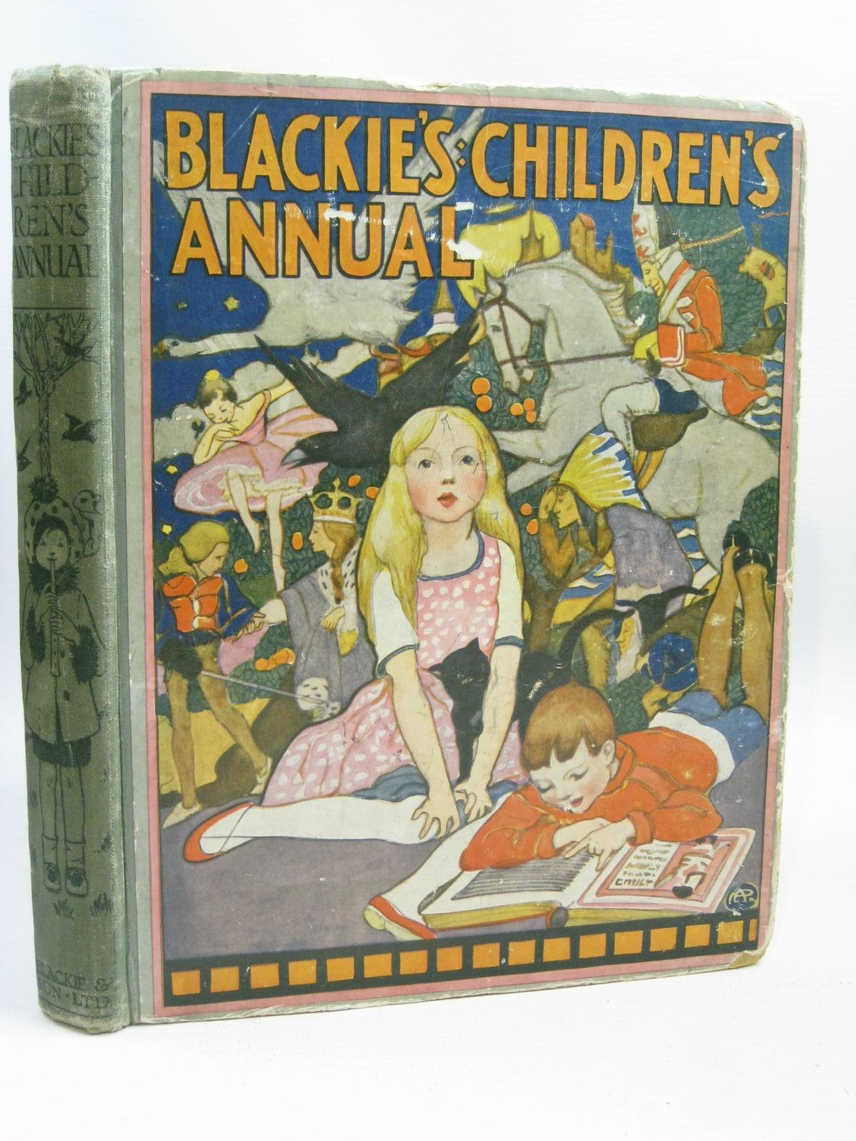 Photo of BLACKIE'S CHILDREN'S ANNUAL 16TH YEAR written by Wemyss, Mrs. George<br />Joan, Natalie<br />Brazil, Angela<br />et al,  illustrated by Brock, H.M.<br />Richardson, Agnes<br />Peart, M.A.<br />Harrison, Florence<br />et al.,  published by Blackie & Son Ltd. (STOCK CODE: 1506186)  for sale by Stella & Rose's Books