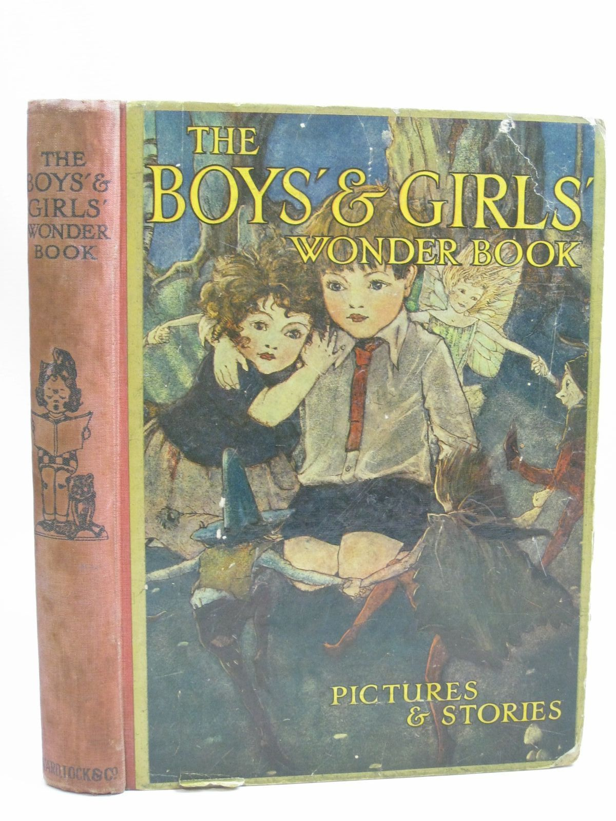 Photo of THE BOYS' AND GIRLS' WONDER BOOK written by Golding, Harry<br />Chaundler, Christine<br />Pope, Jessie<br />Herbertson, Agnes Grozier<br />Owsley, Sibyl B.<br />et al, illustrated by Goss, G.W.<br />Topham, Inez<br />Anderson, Anne<br />Tarrant, Margaret<br />Brisley, Nina K.<br />et al., published by Ward, Lock & Co. Limited (STOCK CODE: 1506230)  for sale by Stella & Rose's Books