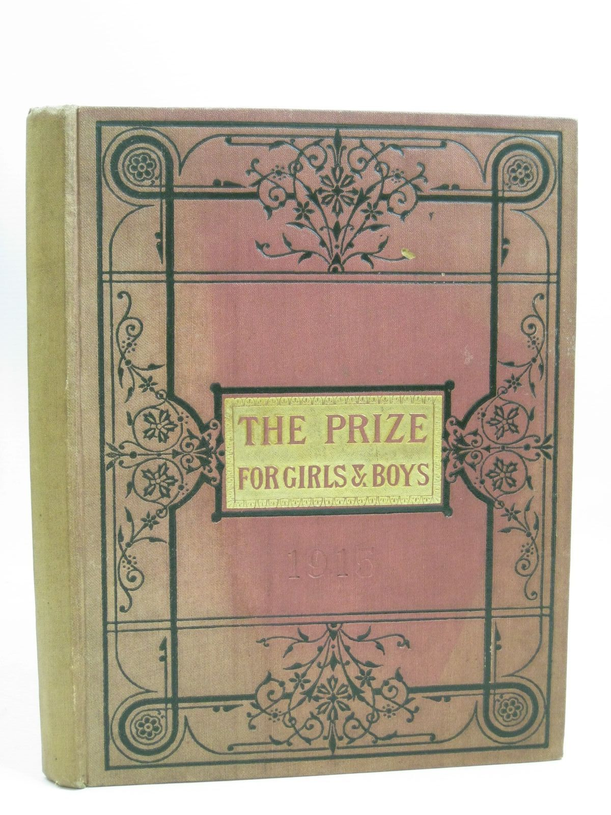 Photo of THE PRIZE FOR GIRLS AND BOYS 1915 published by Wells Gardner, Darton & Co. Ltd. (STOCK CODE: 1506238)  for sale by Stella & Rose's Books