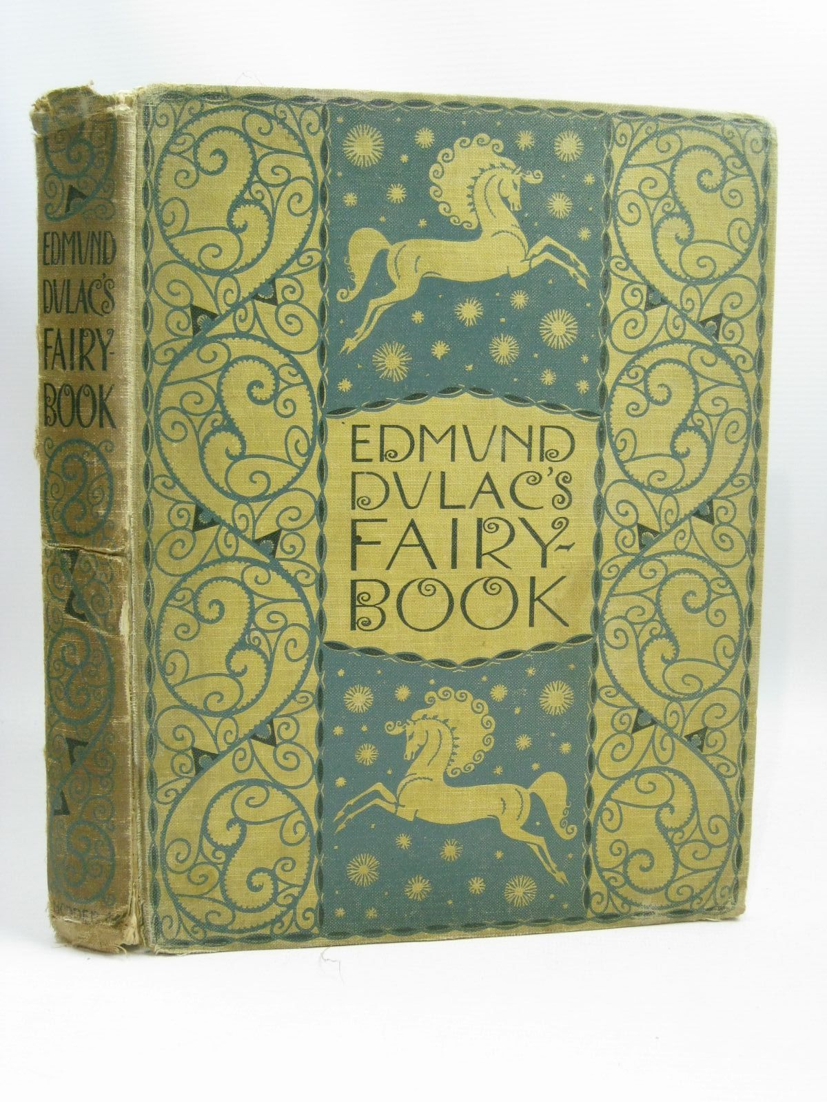 Photo of EDMUND DULAC'S FAIRY BOOK illustrated by Dulac, Edmund published by Hodder & Stoughton (STOCK CODE: 1506244)  for sale by Stella & Rose's Books