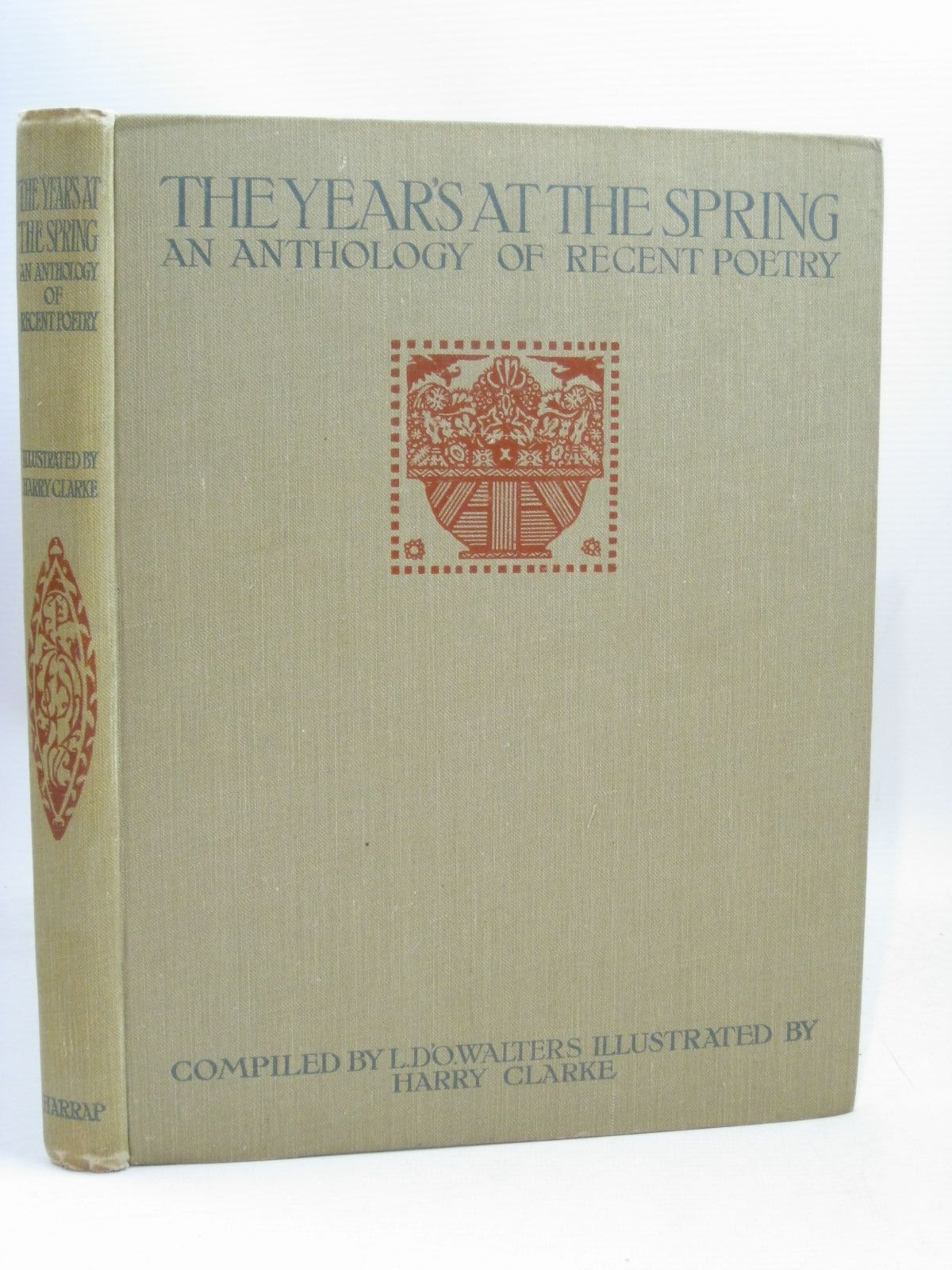 Photo of THE YEAR'S AT THE SPRING written by Walters, Lettice D'Oyly<br />Monro, Harold illustrated by Clarke, Harry published by George G. Harrap & Co. Ltd. (STOCK CODE: 1506247)  for sale by Stella & Rose's Books