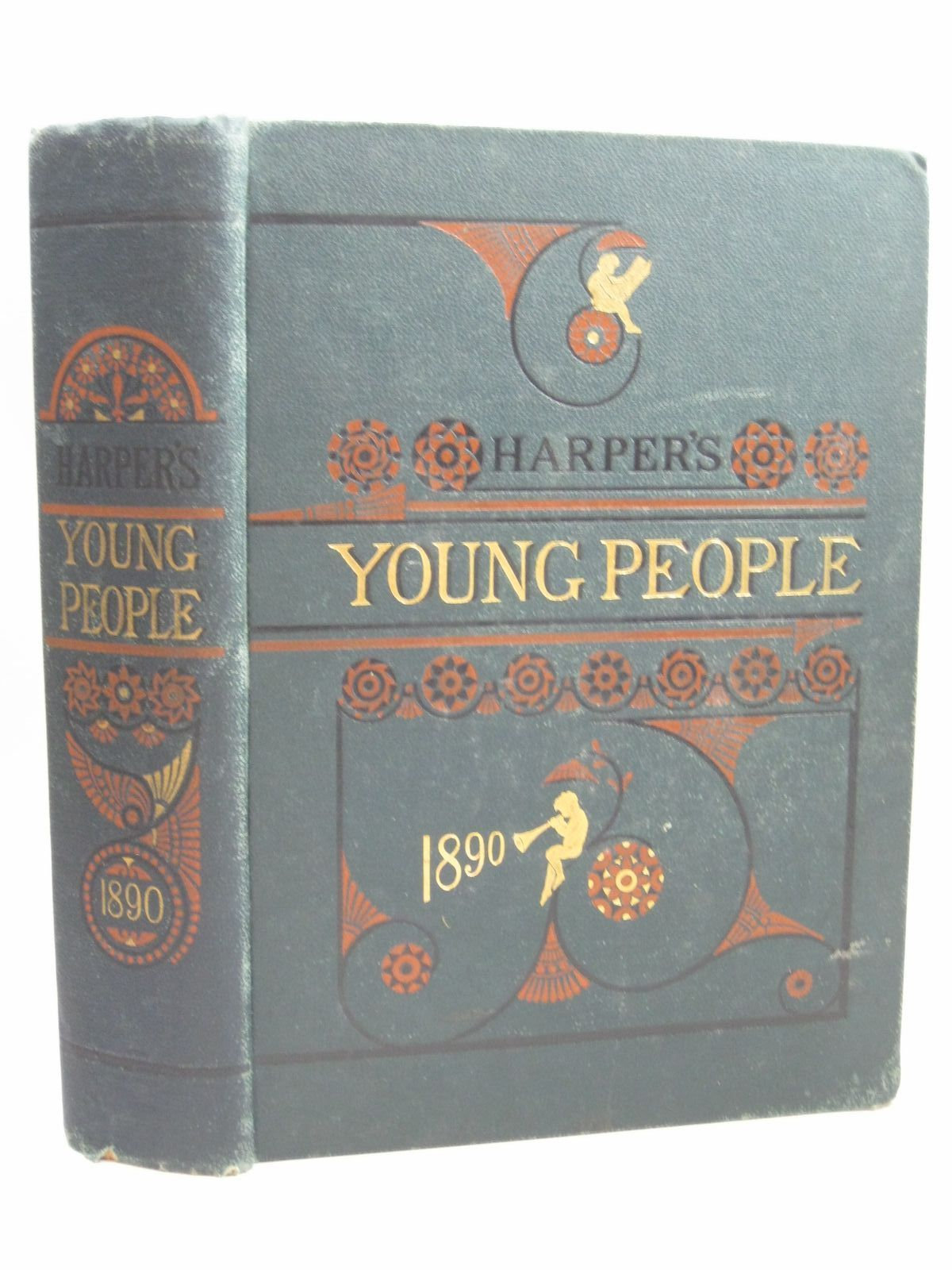 Photo of HARPER'S YOUNG PEOPLE 1890 published by Harper And Brothers (STOCK CODE: 1506263)  for sale by Stella & Rose's Books