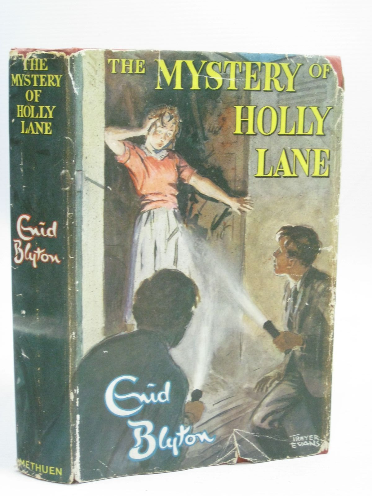 Photo of THE MYSTERY OF HOLLY LANE written by Blyton, Enid illustrated by Evans, Treyer published by Methuen & Co. Ltd. (STOCK CODE: 1506304)  for sale by Stella & Rose's Books