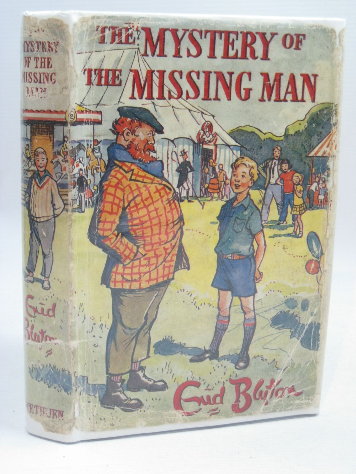 Photo of THE MYSTERY OF THE MISSING MAN written by Blyton, Enid illustrated by Buchanan, Lilian published by Methuen & Co. Ltd. (STOCK CODE: 1506308)  for sale by Stella & Rose's Books