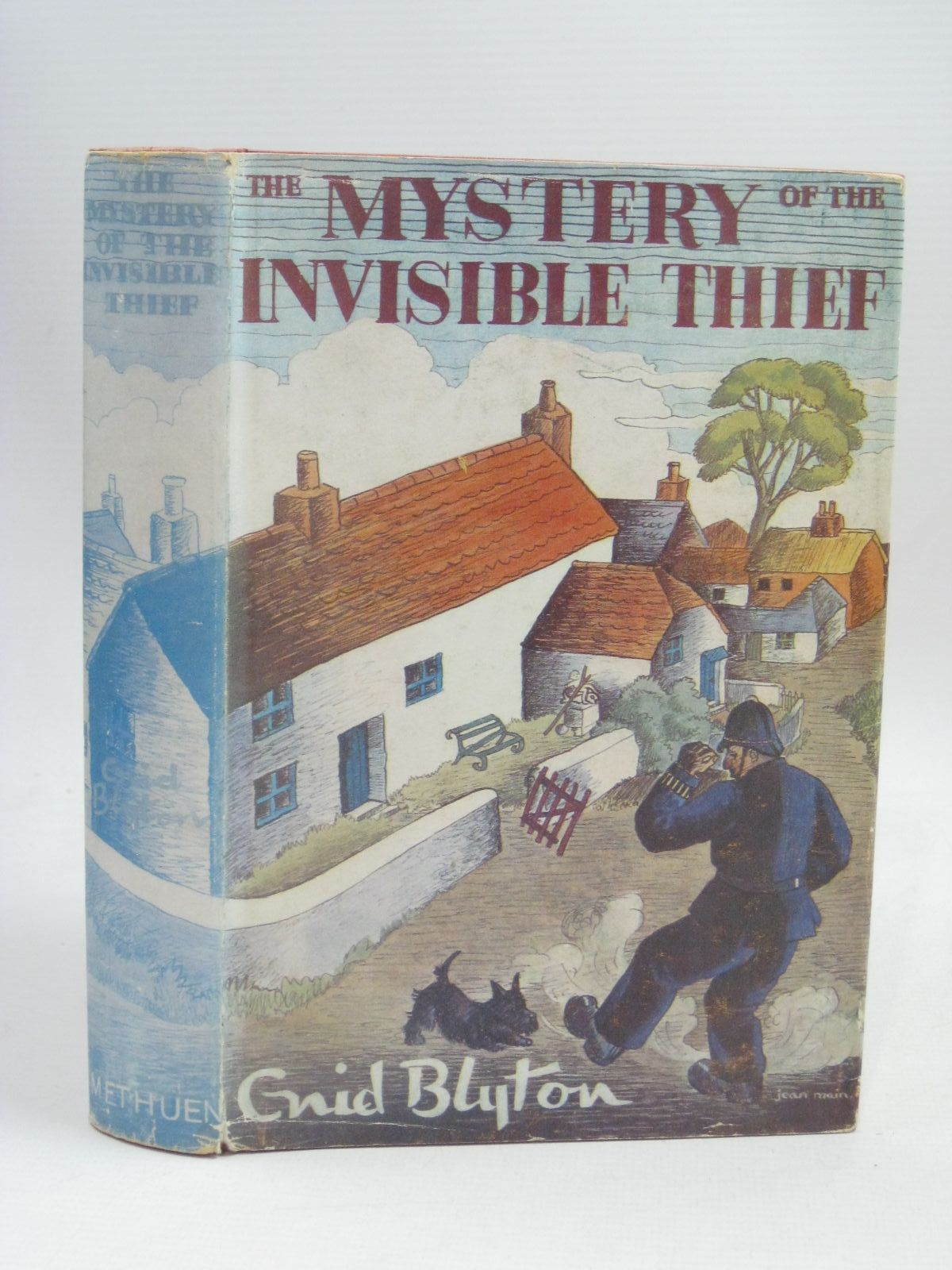 Photo of THE MYSTERY OF THE INVISIBLE THIEF written by Blyton, Enid illustrated by Evans, Treyer published by Methuen & Co. Ltd. (STOCK CODE: 1506321)  for sale by Stella & Rose's Books