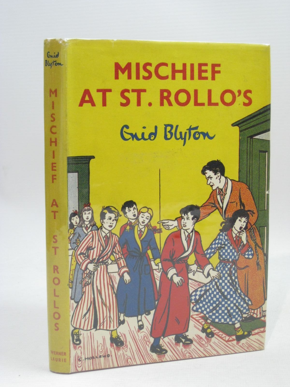 Photo of MISCHIEF AT ST. ROLLO'S written by Blyton, Enid illustrated by Holland, C. published by Werner Laurie (STOCK CODE: 1506325)  for sale by Stella & Rose's Books