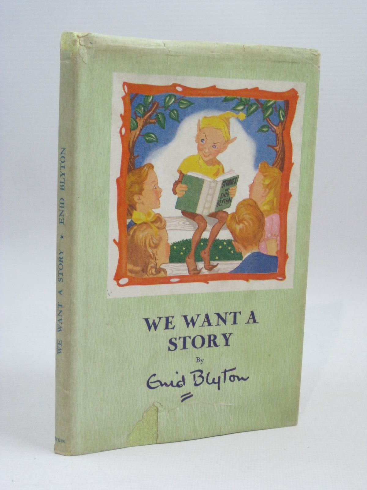 Photo of WE WANT A STORY written by Blyton, Enid illustrated by Bowe, George published by Pitkin (STOCK CODE: 1506327)  for sale by Stella & Rose's Books