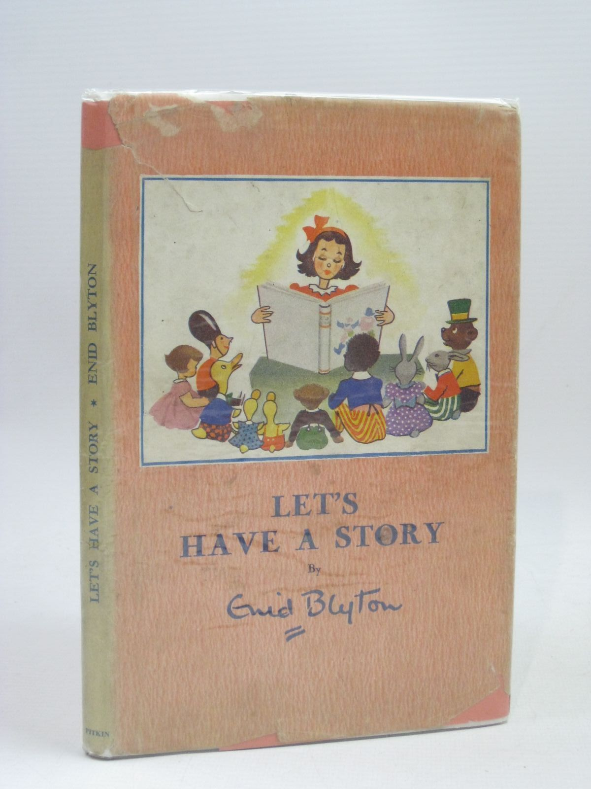 Photo of LET'S HAVE A STORY written by Blyton, Enid illustrated by Bowe, George published by Pitkin (STOCK CODE: 1506328)  for sale by Stella & Rose's Books