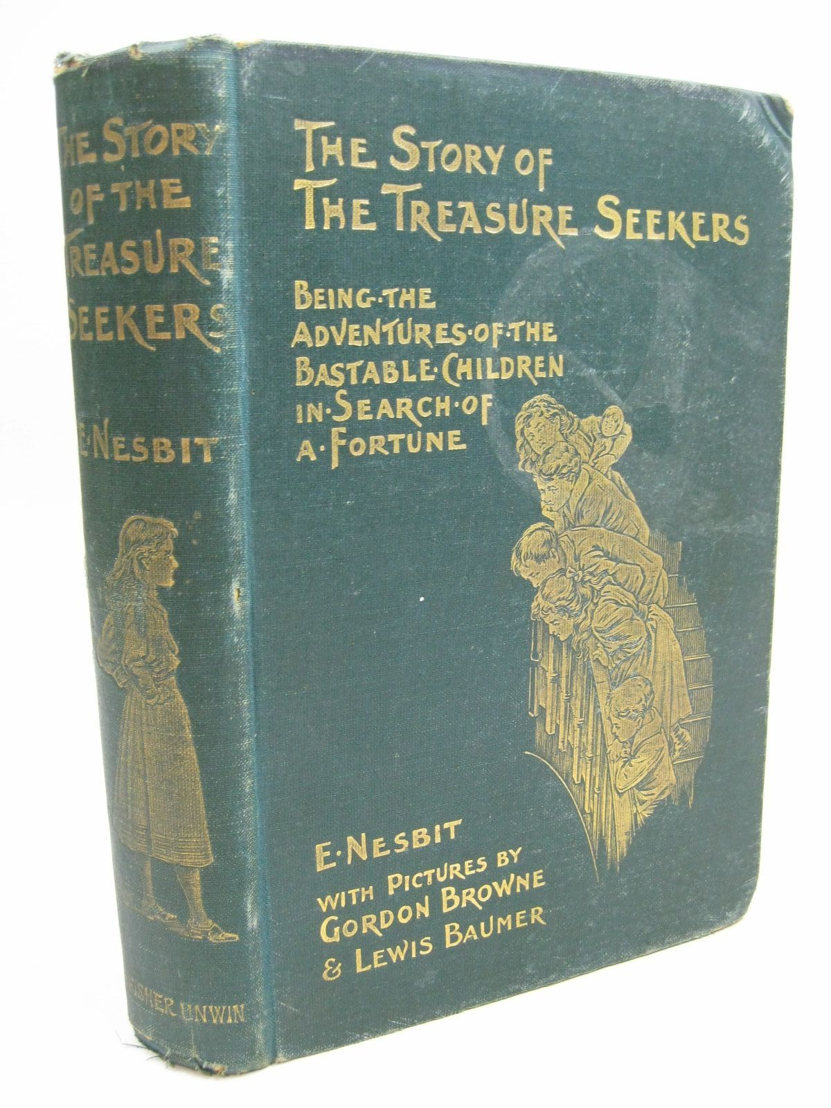Photo of THE STORY OF THE TREASURE SEEKERS written by Nesbit, E. illustrated by Browne, Gordon<br />Baumer, Lewis published by T. Fisher Unwin (STOCK CODE: 1506329)  for sale by Stella & Rose's Books
