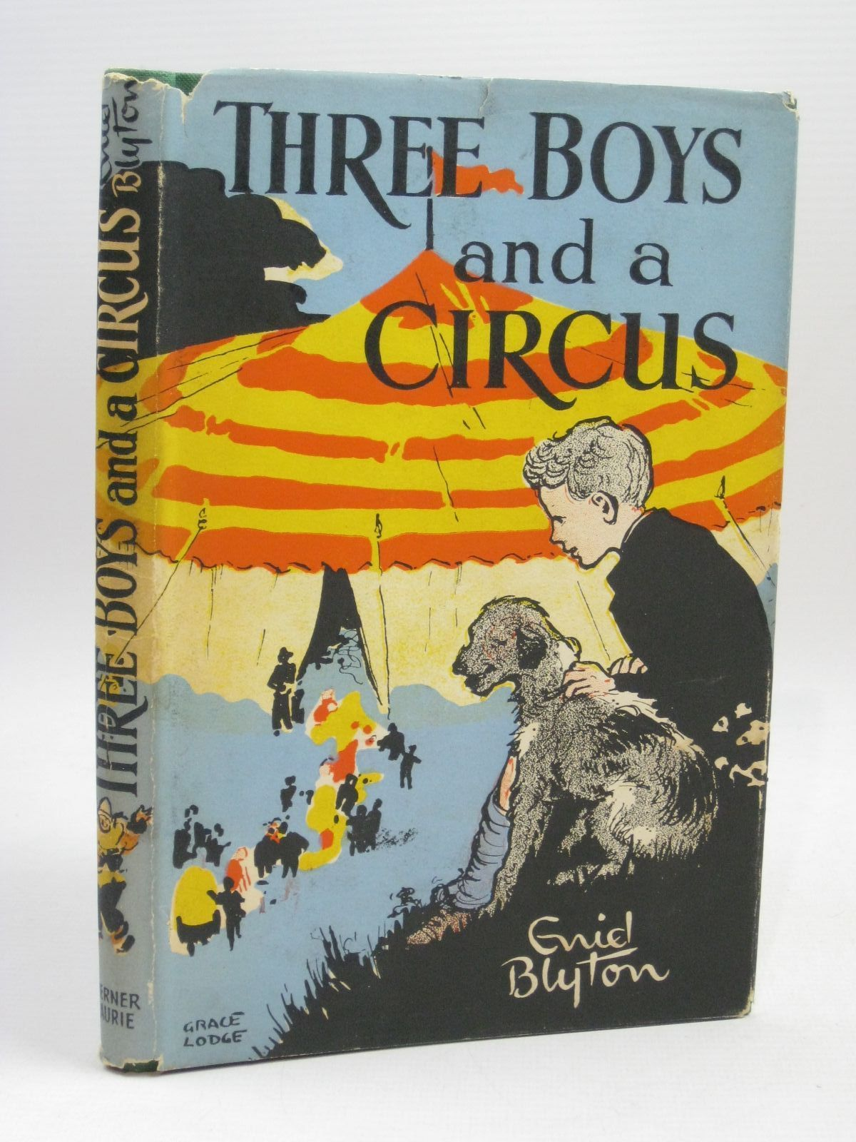 Photo of THREE BOYS AND A CIRCUS written by Blyton, Enid illustrated by Lodge, Grace published by Werner Laurie (STOCK CODE: 1506340)  for sale by Stella & Rose's Books