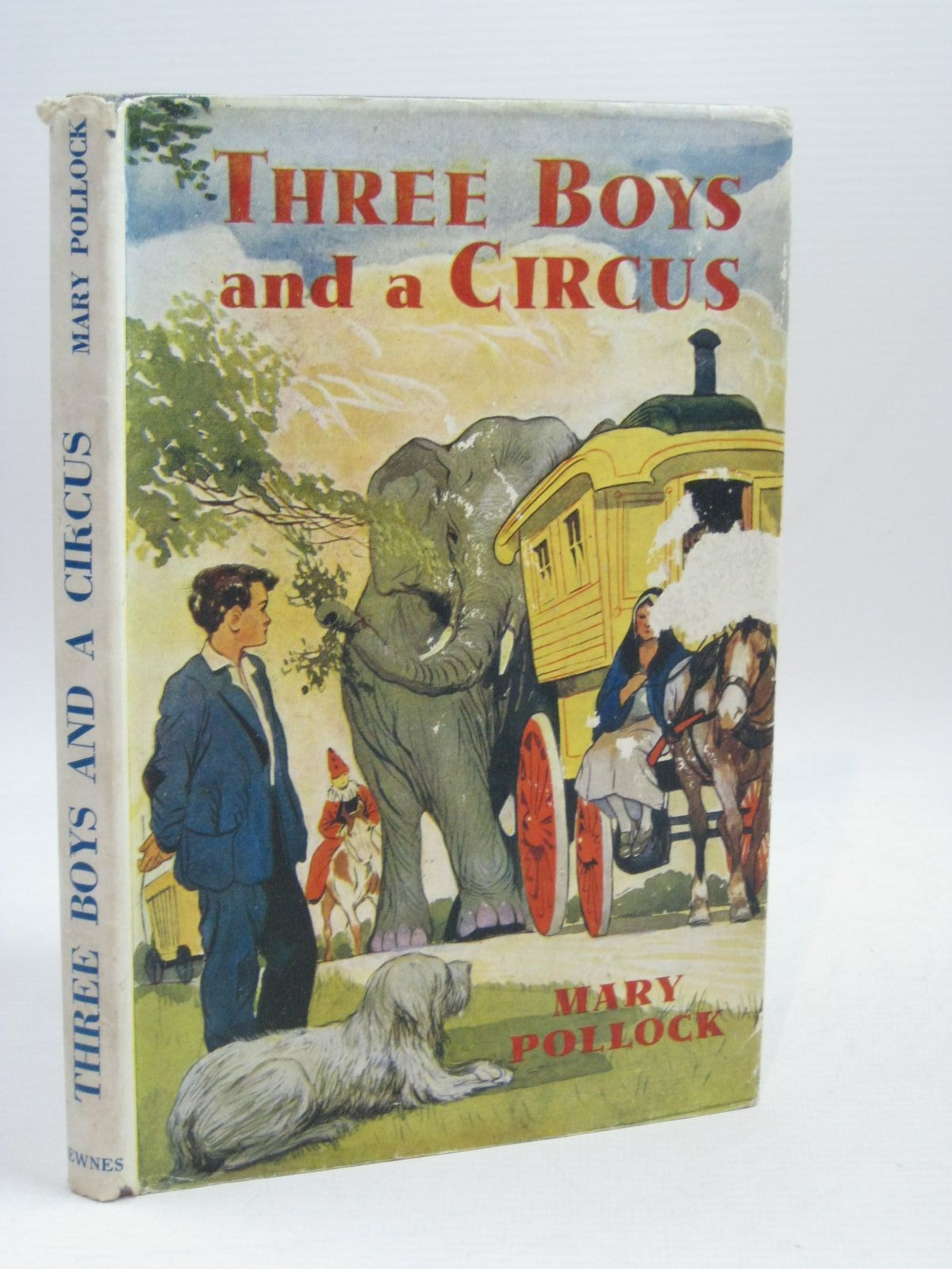 Photo of THREE BOYS AND A CIRCUS written by Pollock, Mary<br />Blyton, Enid published by George Newnes Ltd. (STOCK CODE: 1506341)  for sale by Stella & Rose's Books
