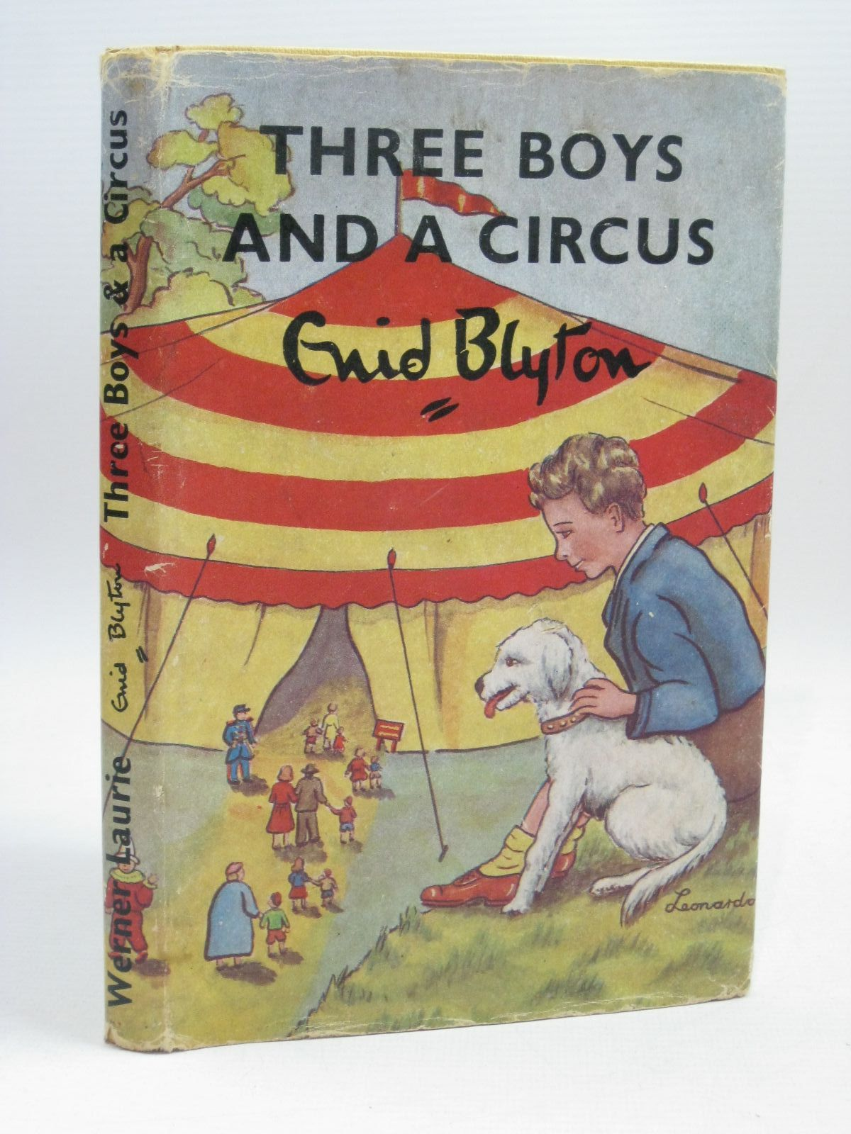Photo of THREE BOYS AND A CIRCUS written by Blyton, Enid illustrated by Lodge, Grace published by Werner Laurie (STOCK CODE: 1506343)  for sale by Stella & Rose's Books