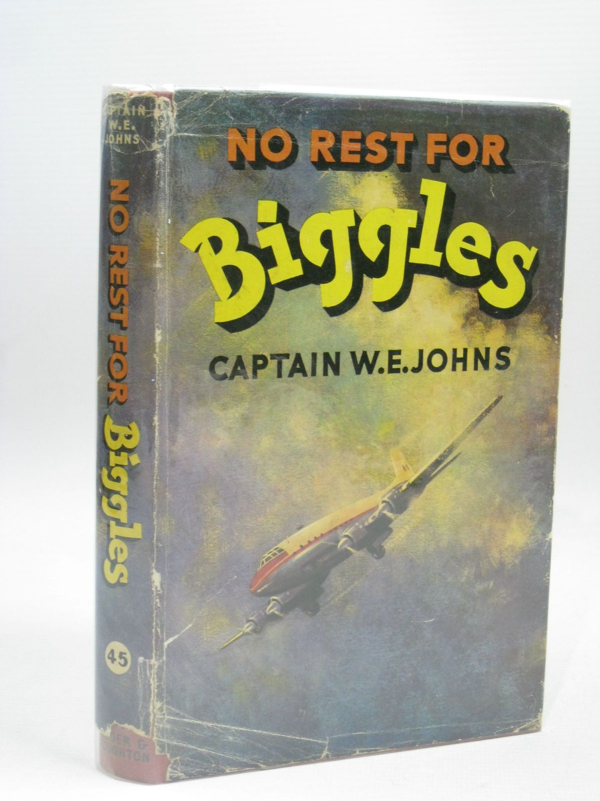 Photo of NO REST FOR BIGGLES written by Johns, W.E. illustrated by Stead,  published by Hodder & Stoughton (STOCK CODE: 1506347)  for sale by Stella & Rose's Books