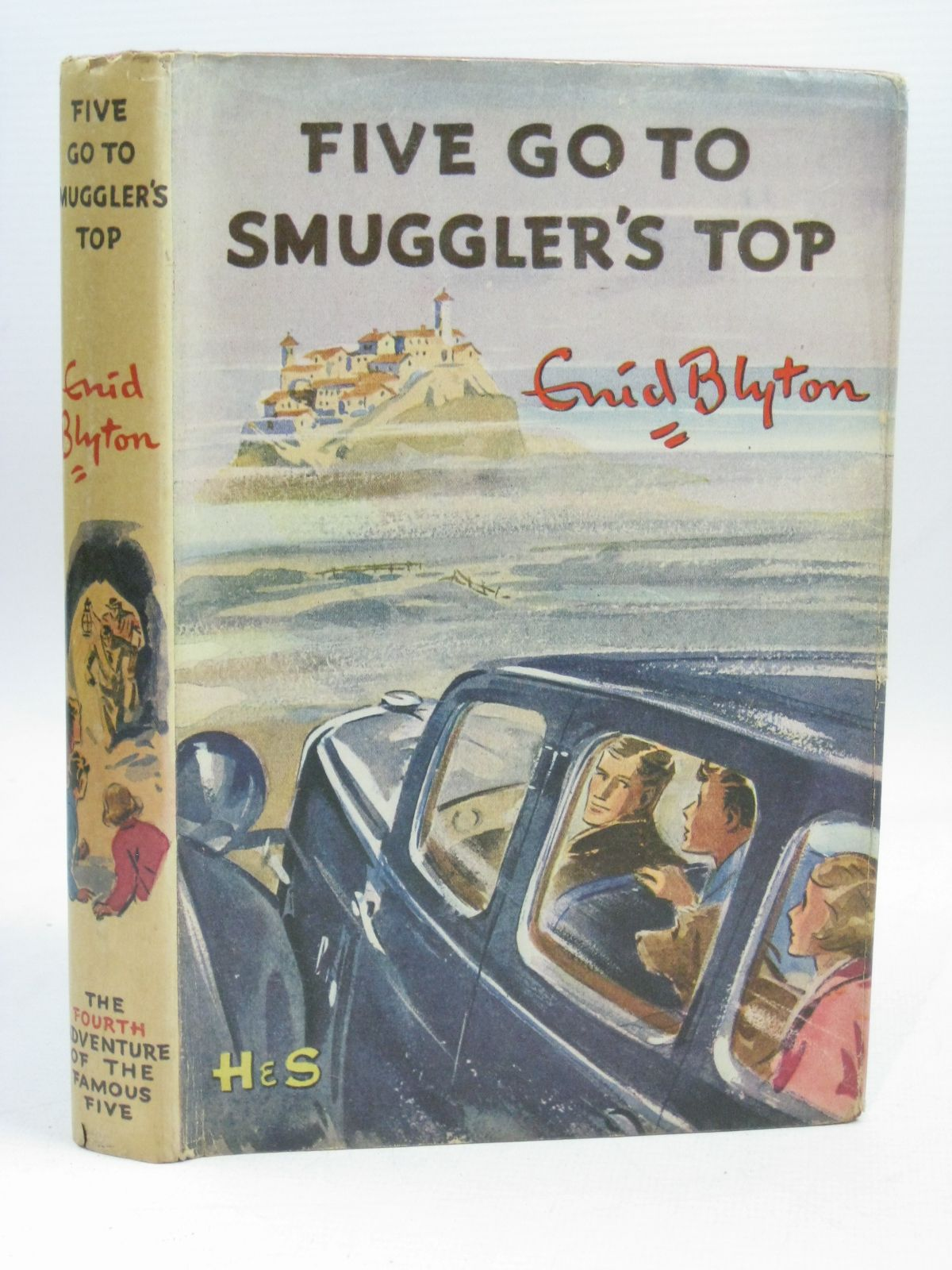 Photo of FIVE GO TO SMUGGLER'S TOP written by Blyton, Enid illustrated by Soper, Eileen published by Hodder & Stoughton (STOCK CODE: 1506375)  for sale by Stella & Rose's Books