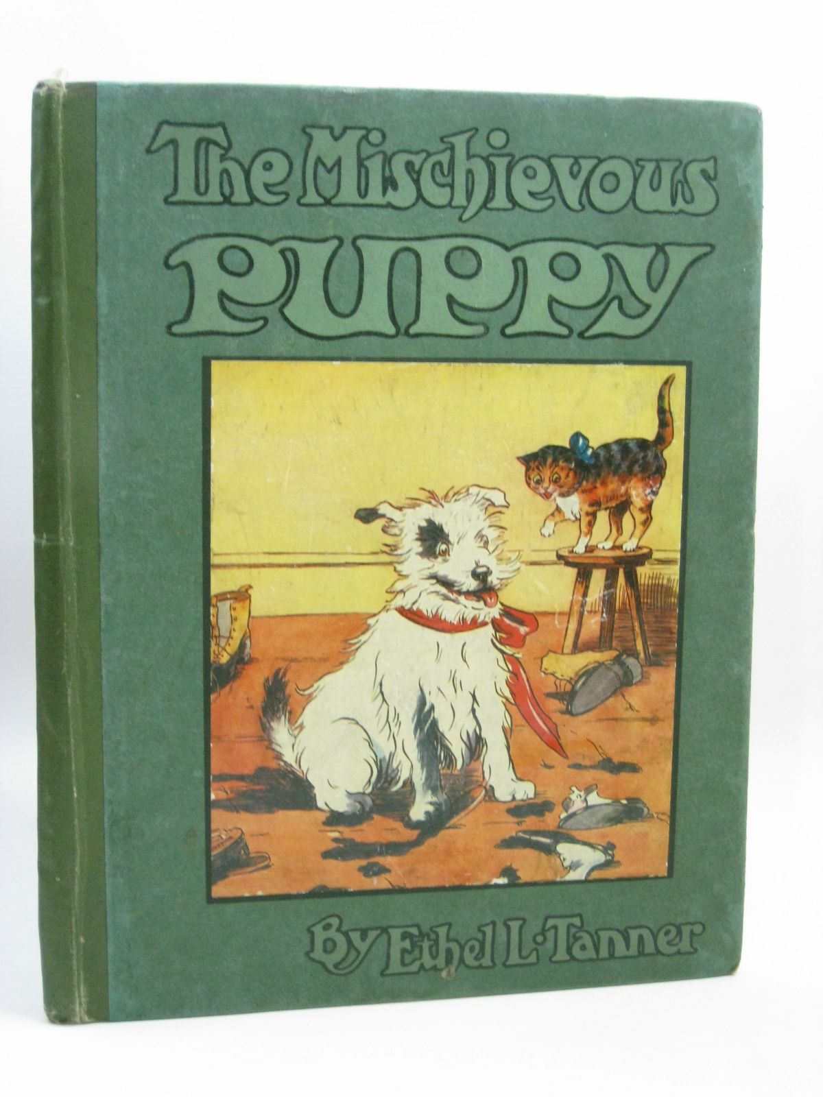 Photo of THE MISCHIEVOUS PUPPY written by Martin, Leslie illustrated by Tanner, Ethel L. published by Gale & Polden, Ltd. (STOCK CODE: 1506417)  for sale by Stella & Rose's Books