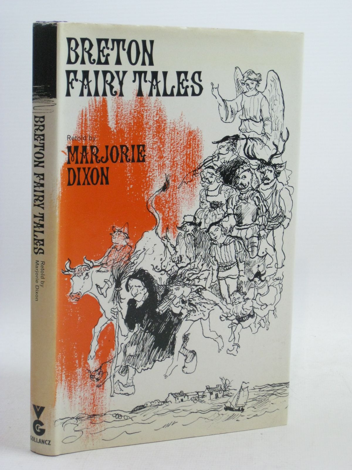 Photo of BRETON FAIRY TALES written by Dixon, Marjorie illustrated by Kennedy, Richard published by Victor Gollancz Ltd. (STOCK CODE: 1506455)  for sale by Stella & Rose's Books