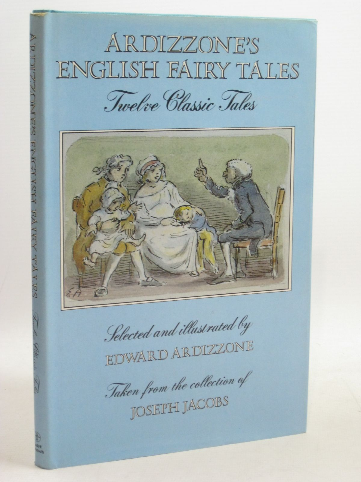 Photo of ARDIZZONE'S ENGLISH FAIRY TALES written by Jacobs, Joseph illustrated by Ardizzone, Edward published by Andre Deutsch (STOCK CODE: 1506458)  for sale by Stella & Rose's Books