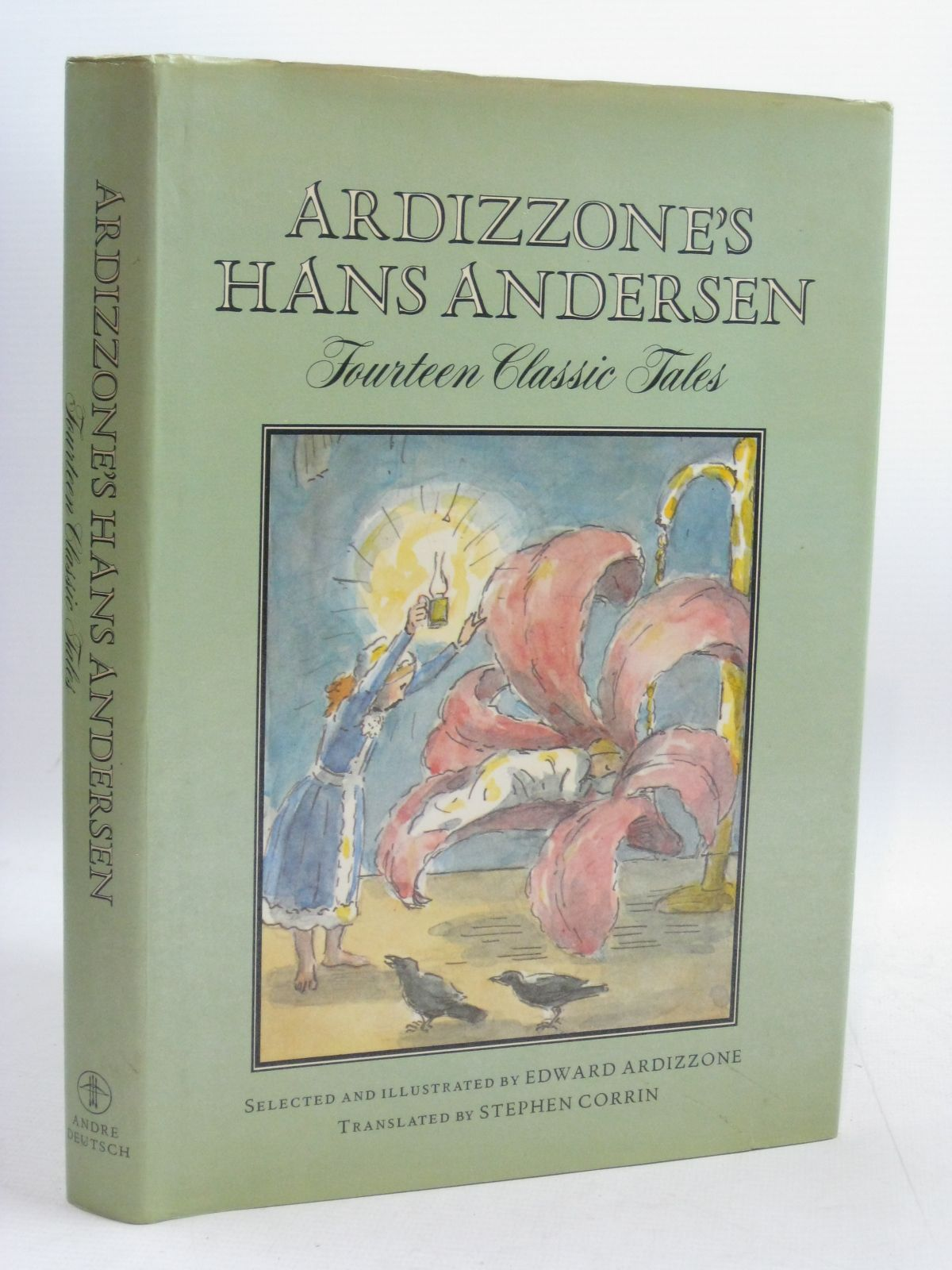 Photo of ARDIZZONE'S HANS ANDERSEN written by Andersen, Hans Christian<br />Corrin, Stephen illustrated by Ardizzone, Edward published by Andre Deutsch (STOCK CODE: 1506469)  for sale by Stella & Rose's Books