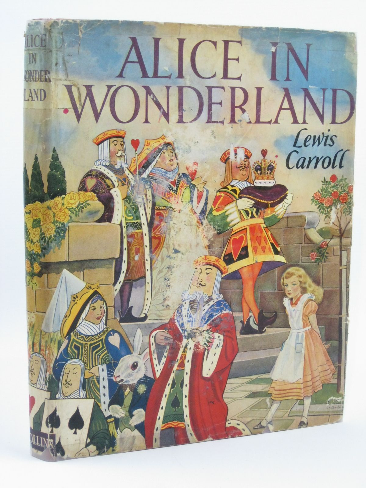Photo of ALICE IN WONDERLAND written by Carroll, Lewis illustrated by Backhouse, G.W. published by Collins (STOCK CODE: 1506513)  for sale by Stella & Rose's Books
