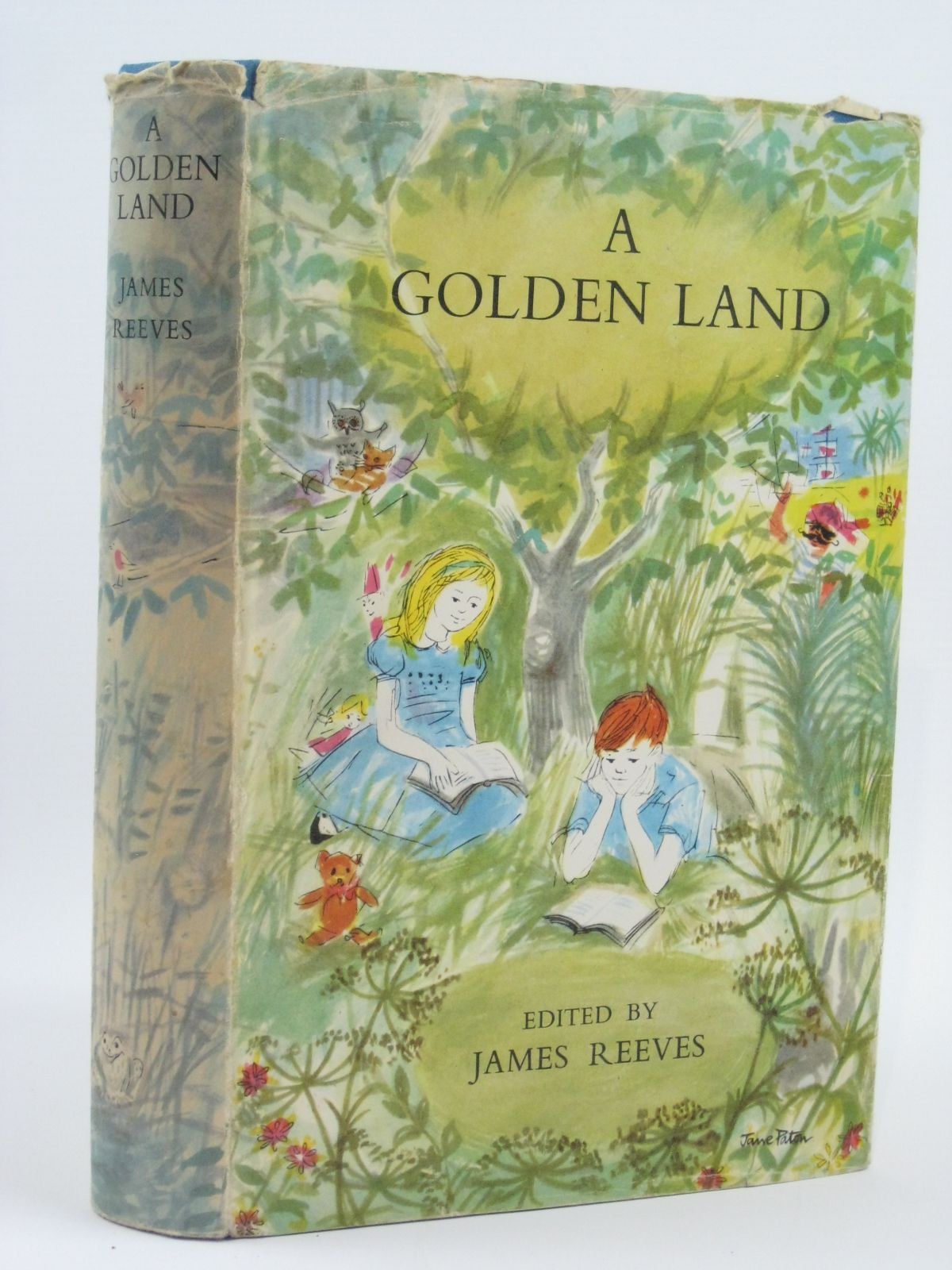 Photo of A GOLDEN LAND written by Reeves, James illustrated by Ardizzone, Edward<br />Conway, Gillian<br />et al.,  published by Constable and Company Ltd. (STOCK CODE: 1506518)  for sale by Stella & Rose's Books