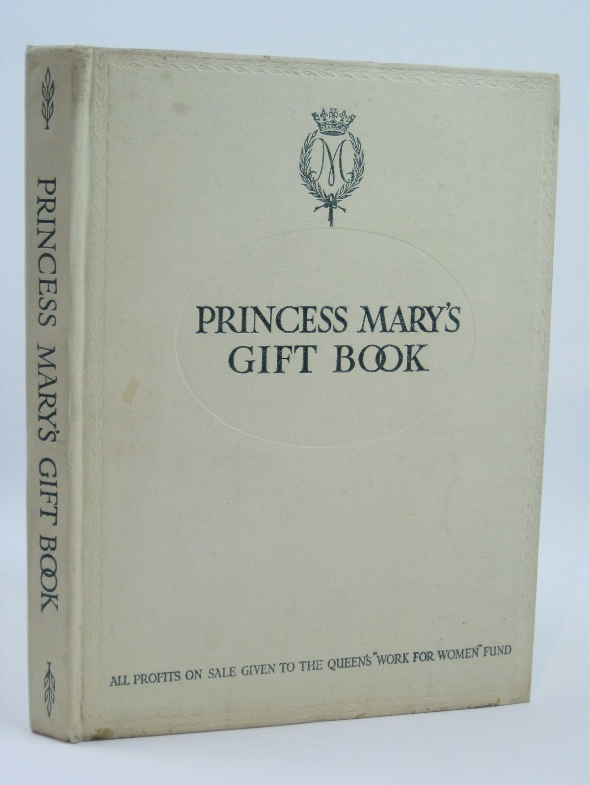 Photo of PRINCESS MARY'S GIFT BOOK written by Barrie, J.M.<br />Birmingham, George A.<br />Doyle, Arthur Conan<br />Haggard, H. Rider<br />Wiggin, Kate Douglas<br />et al, illustrated by Rackham, Arthur<br />Dulac, Edmund<br />Detmold, Edward J.<br />et al., published by Hodder & Stoughton (STOCK CODE: 1506547)  for sale by Stella & Rose's Books