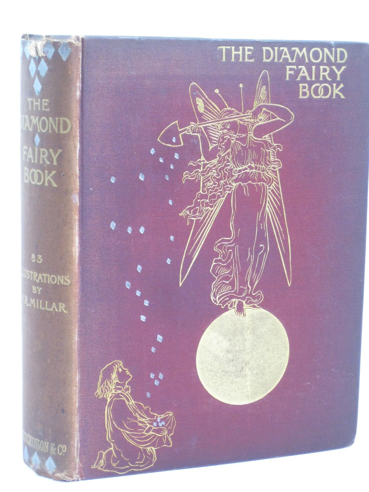 Photo of THE DIAMOND FAIRY BOOK written by Bellerby, Isabel<br />Topelius, Z.<br />Eastwick, Mrs. Egerton<br />et al,  illustrated by Millar, H.R. published by Hutchinson & Co. (STOCK CODE: 1506551)  for sale by Stella & Rose's Books