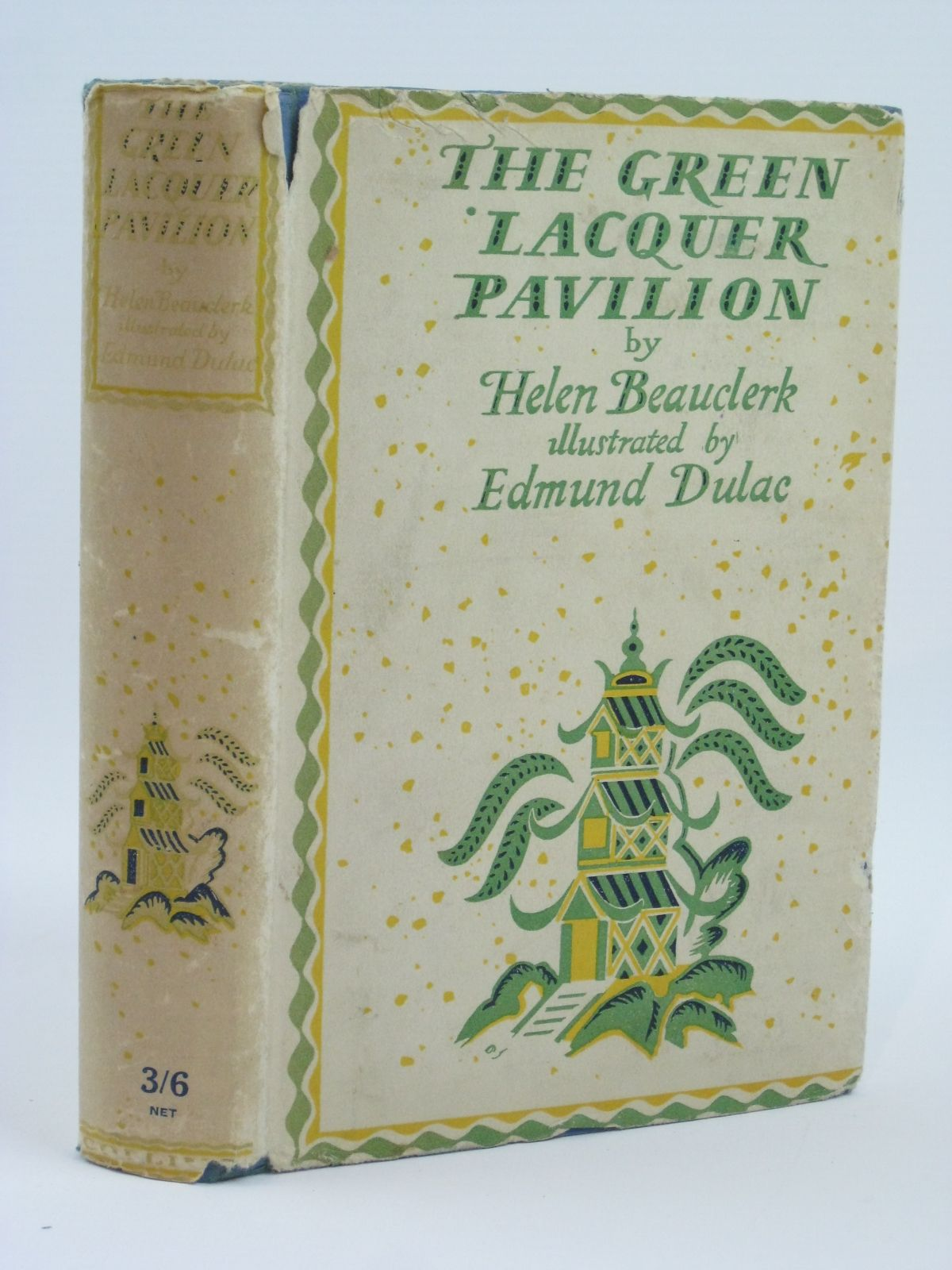 Photo of THE GREEN LACQUER PAVILION written by Beauclerk, Helen illustrated by Dulac, Edmund published by W. Collins Sons and Co. Ltd. (STOCK CODE: 1506552)  for sale by Stella & Rose's Books