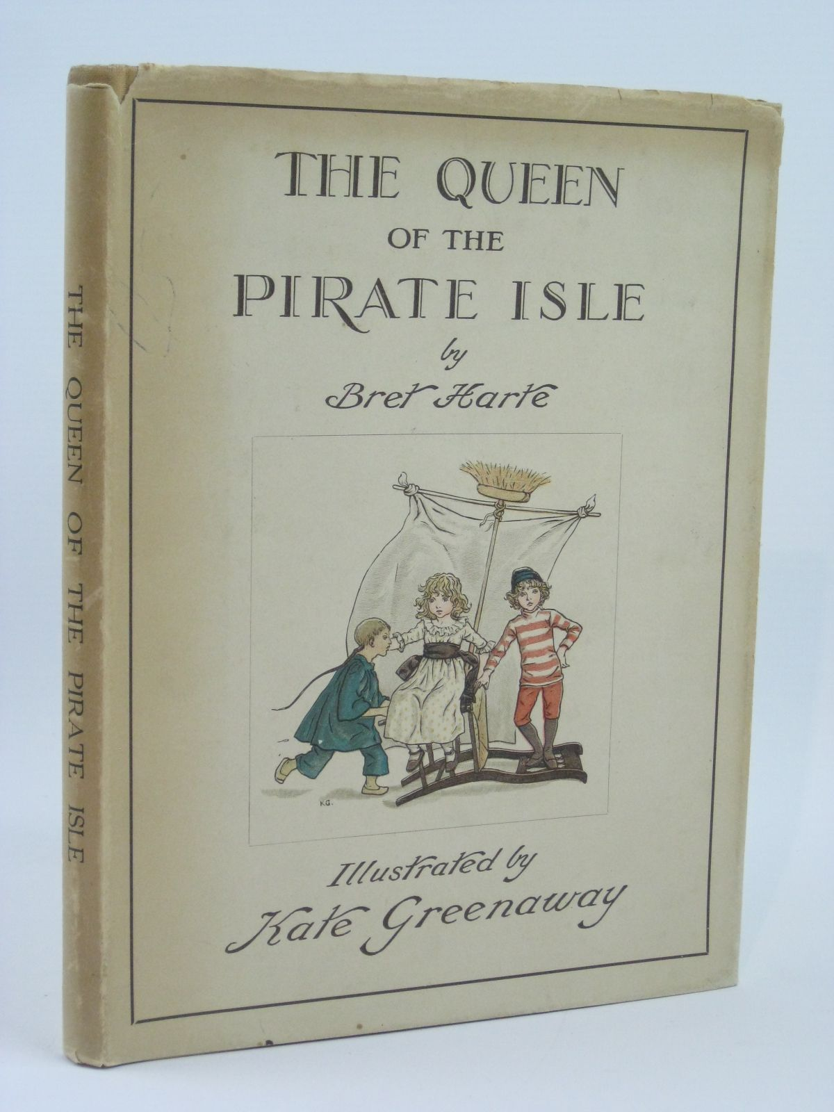 Photo of THE QUEEN OF THE PIRATE ISLE written by Harte, Bret illustrated by Greenaway, Kate published by Frederick Warne & Co. (STOCK CODE: 1506557)  for sale by Stella & Rose's Books