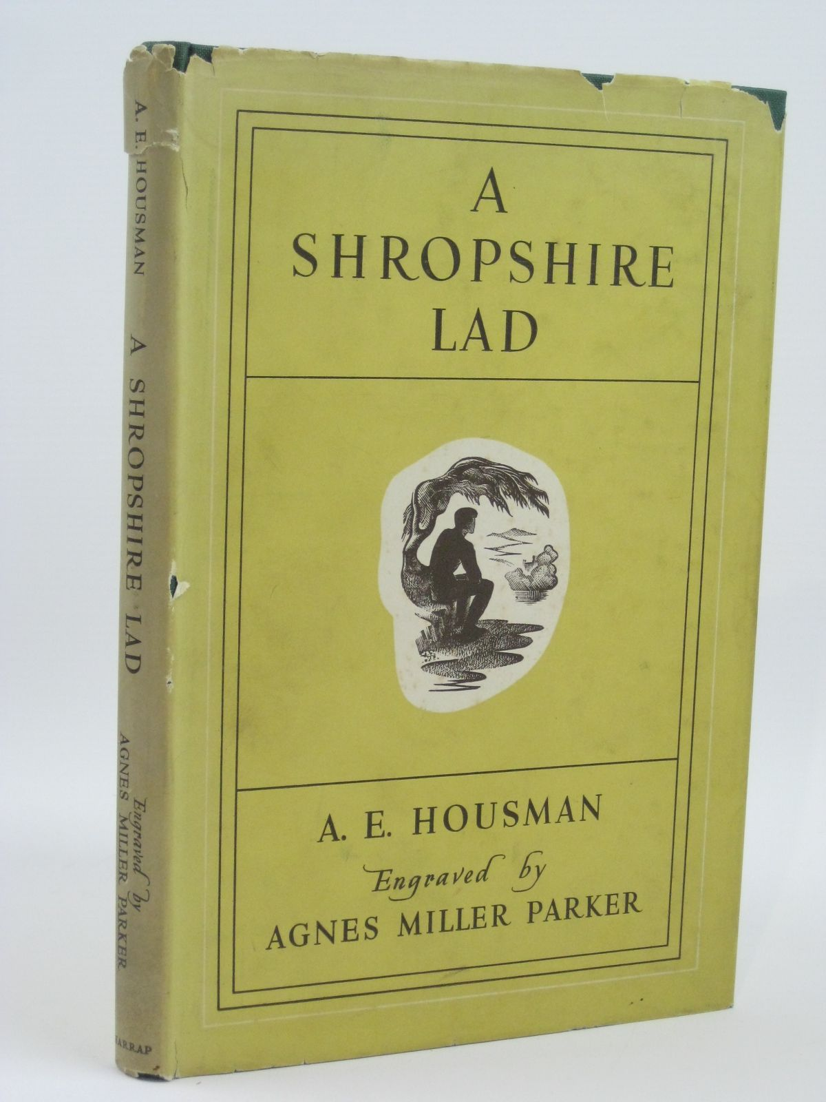 Photo of A SHROPSHIRE LAD written by Housman, A.E. illustrated by Parker, Agnes Miller published by George G. Harrap & Co. Ltd. (STOCK CODE: 1506558)  for sale by Stella & Rose's Books