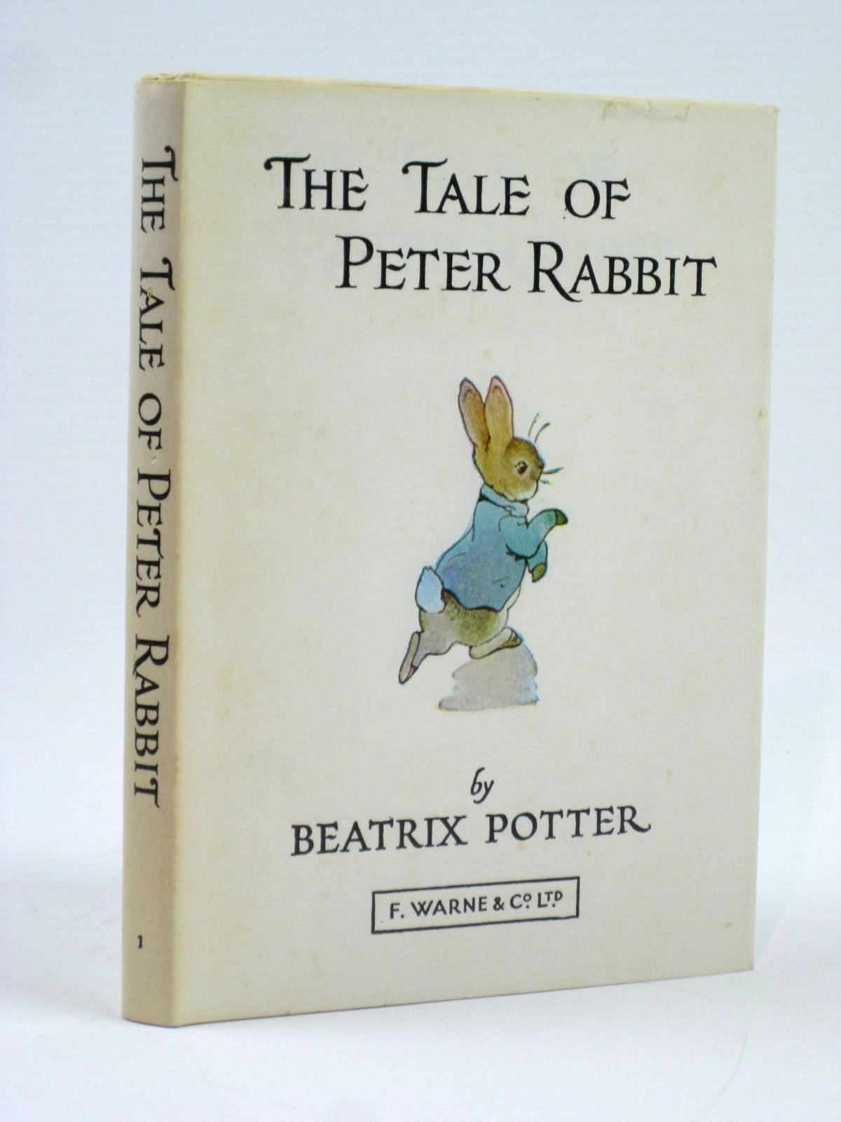 Photo of THE TALE OF PETER RABBIT written by Potter, Beatrix illustrated by Potter, Beatrix published by Frederick Warne & Co Ltd. (STOCK CODE: 1506612)  for sale by Stella & Rose's Books